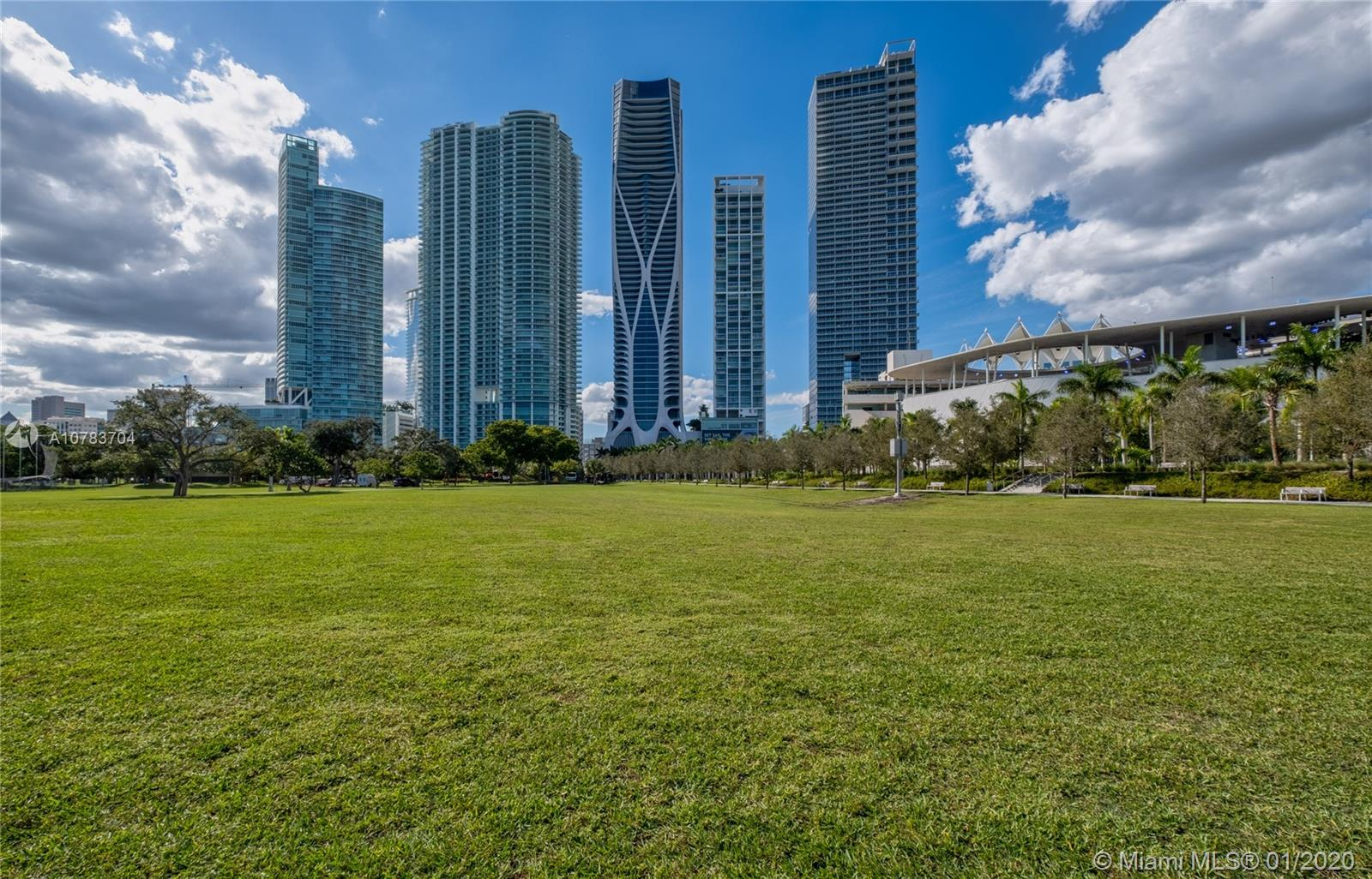 1000  Biscayne Blvd #3701 For Sale A10783704, FL