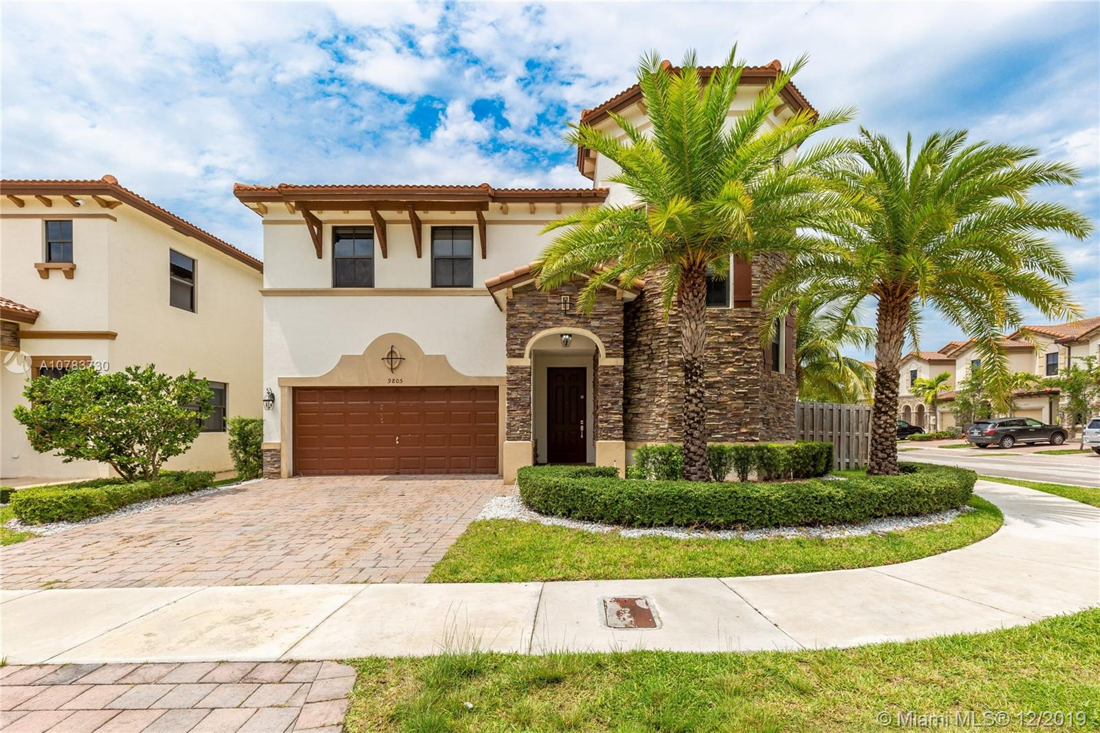 9805 NW 86th Te  For Sale A10783730, FL