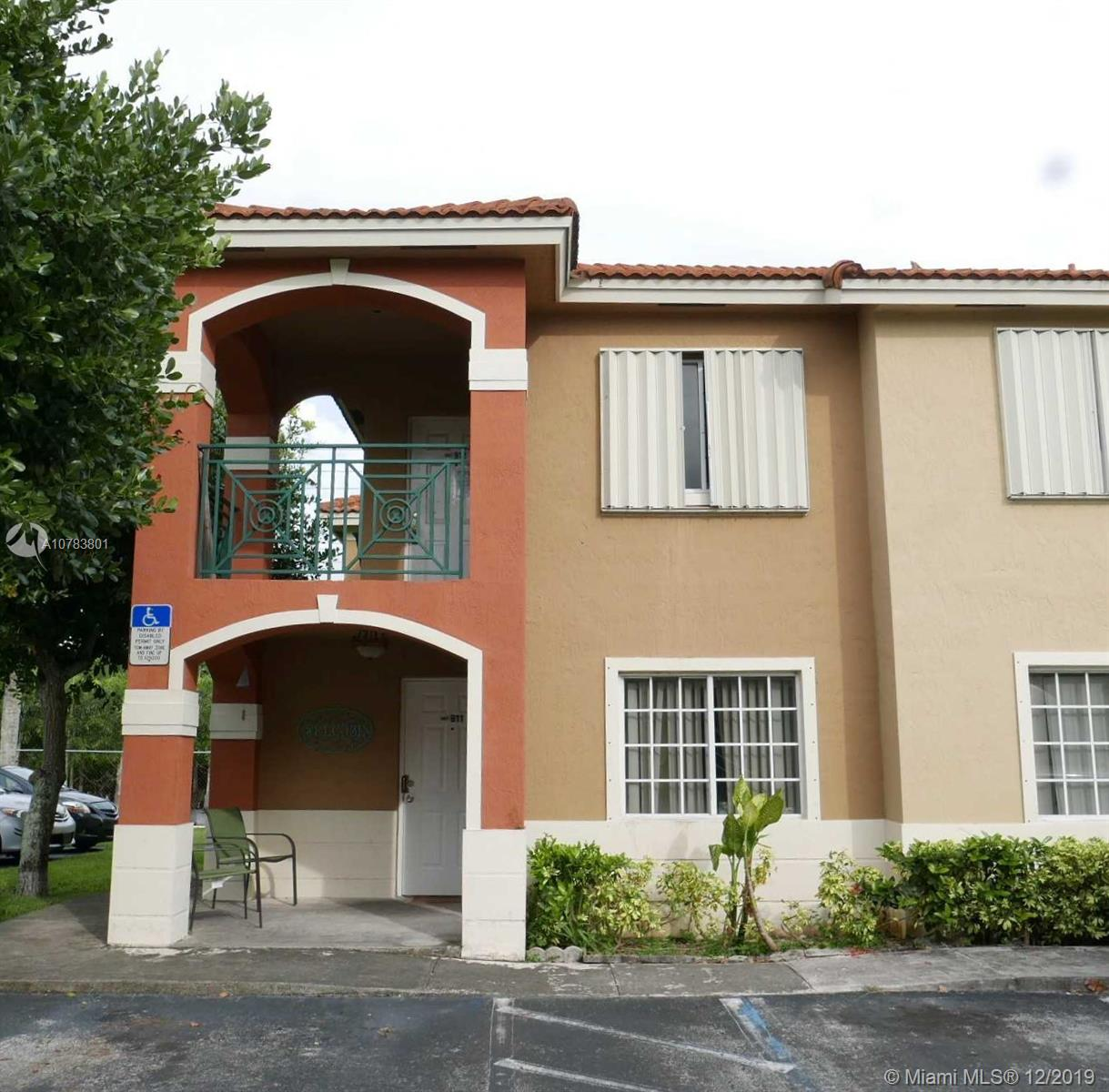 15421 SW 133rd Pl #912 For Sale A10783801, FL