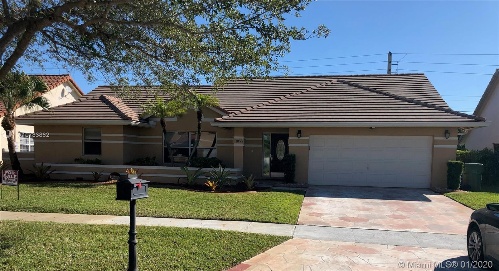 1099 NW 161st Ave, Pembroke Pines, FL 33028