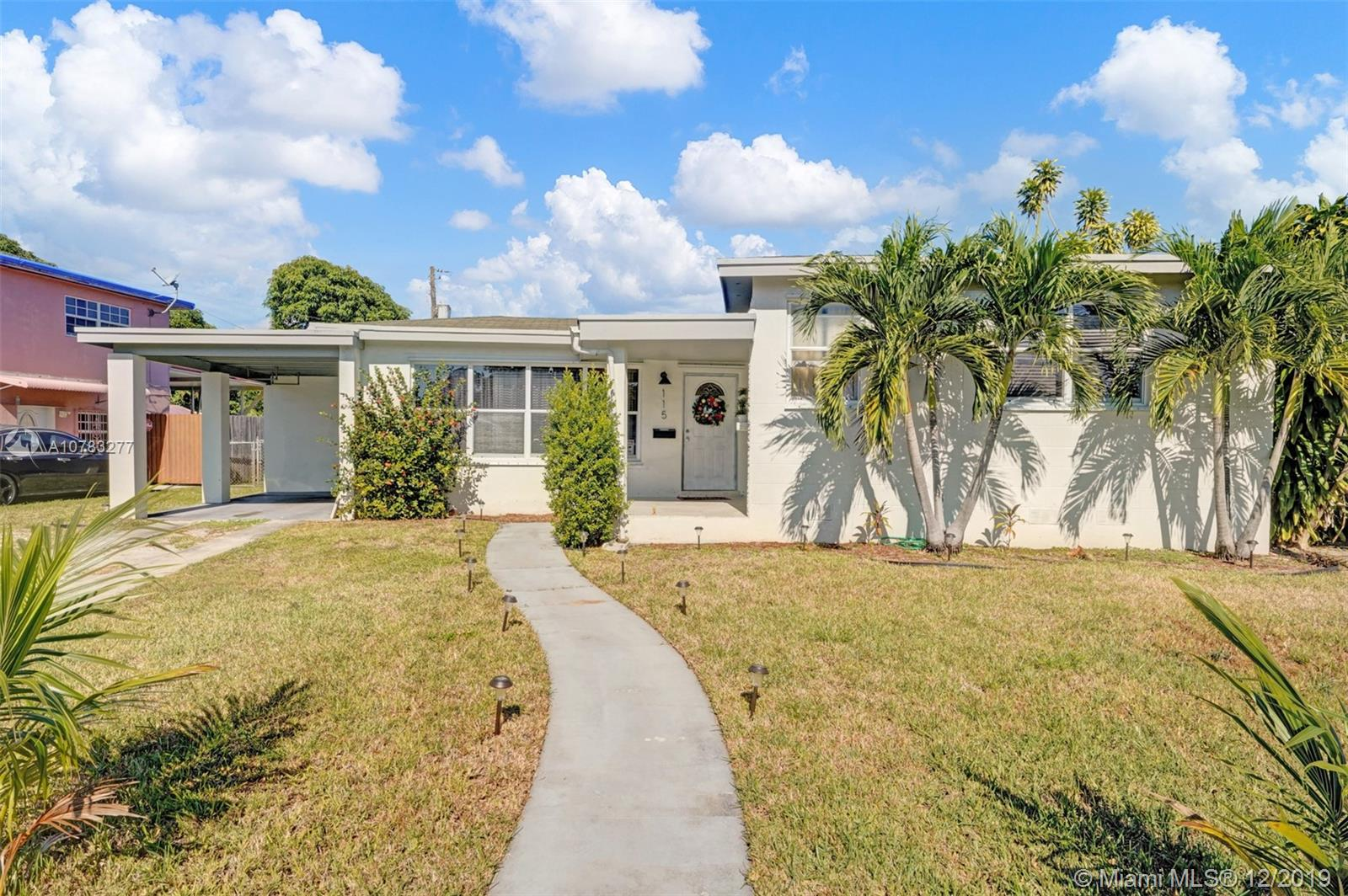 115 NE 121st Ter  For Sale A10783277, FL
