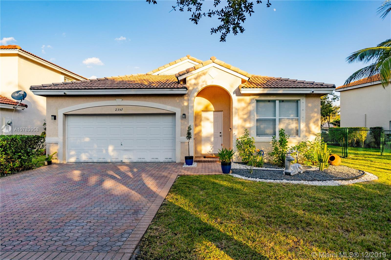 2357 SW 135th Ave  For Sale A10783958, FL