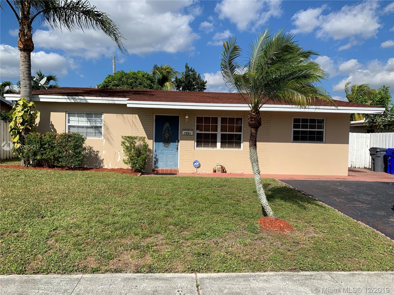 7581  Polk St  For Sale A10783421, FL
