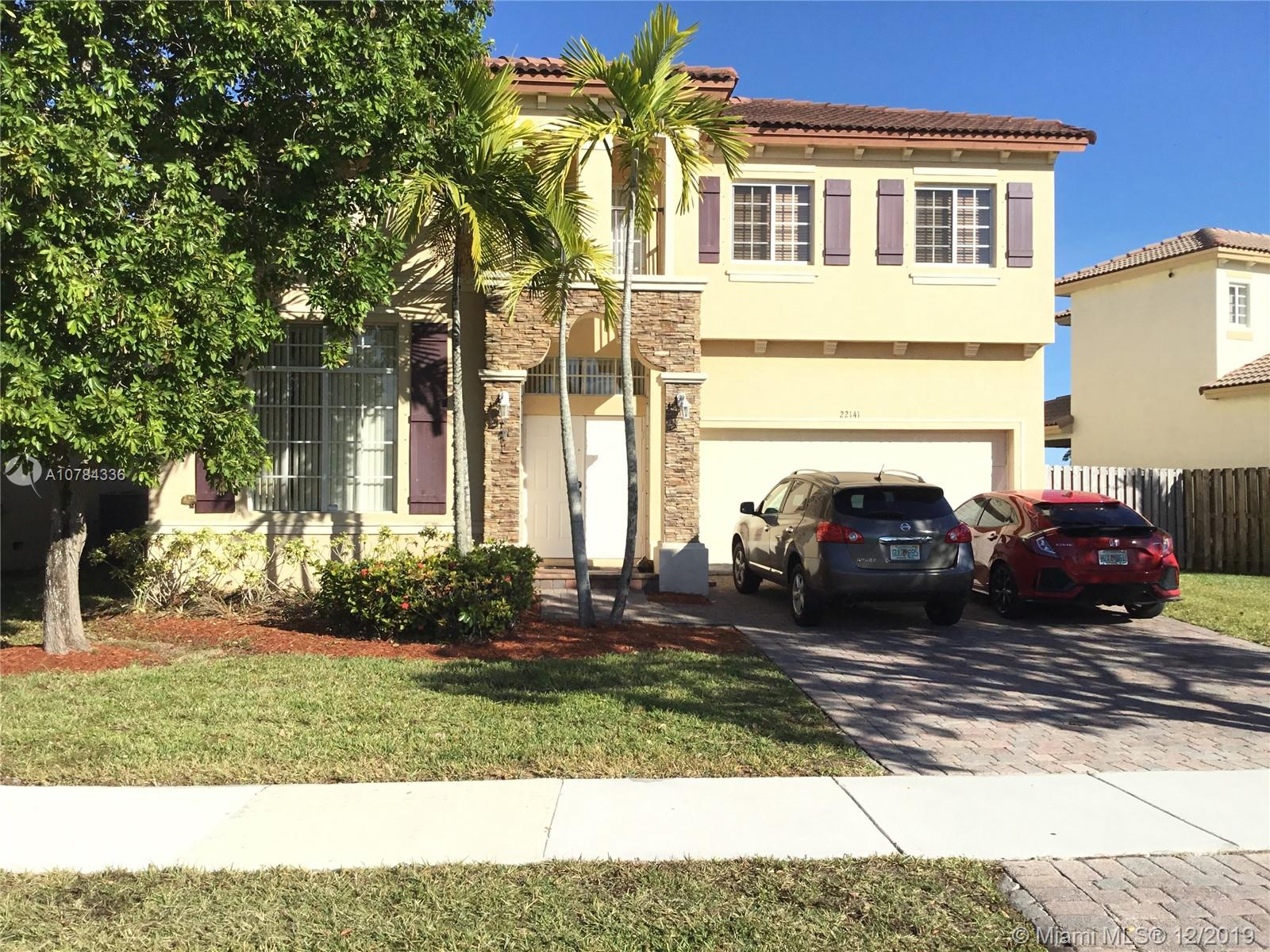 22141 SW 87th Pl  For Sale A10784336, FL