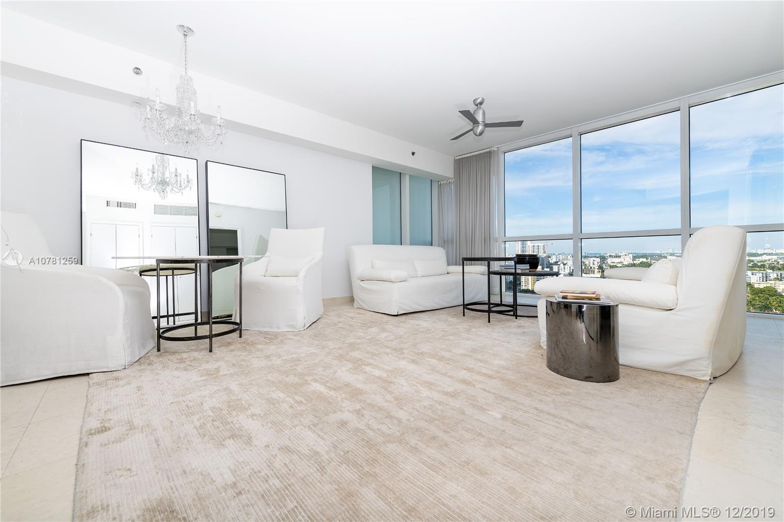 unit 2008 is a great opportunity to own a condo in the famous Icon south beach tower , The unit as an unique allure it comes with Philippe Starck finishes . 1,5 bathroom walking closet washer and dryer . Beautiful view of the bay and the ocean alone with the city of Miami Beach. The 5 stars condominium offers concierge, valet parking, state of the art gym & spa, pools, restaurant. Few blocks from the beach.