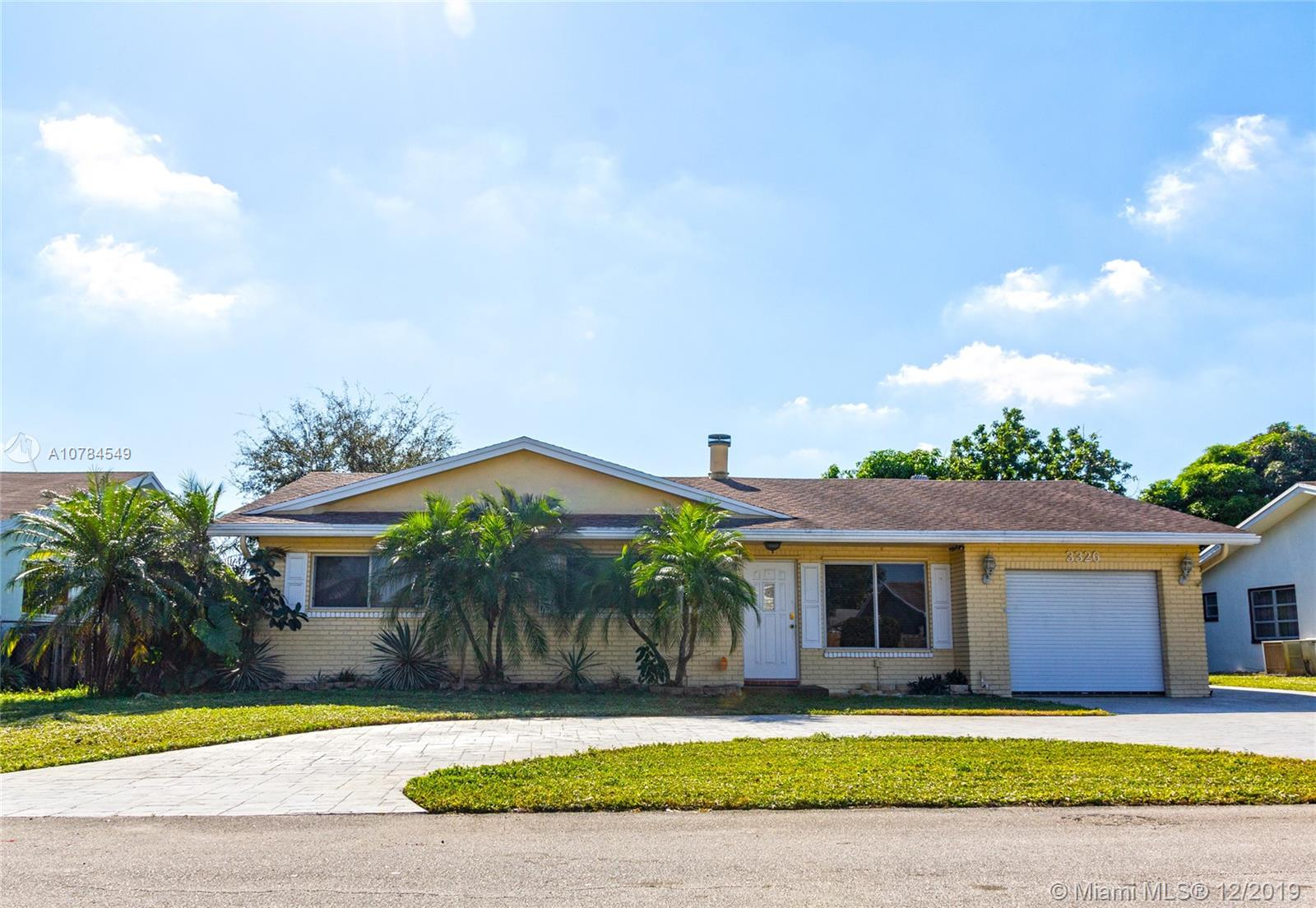 3326 NW 69th St, Fort Lauderdale, FL 33309