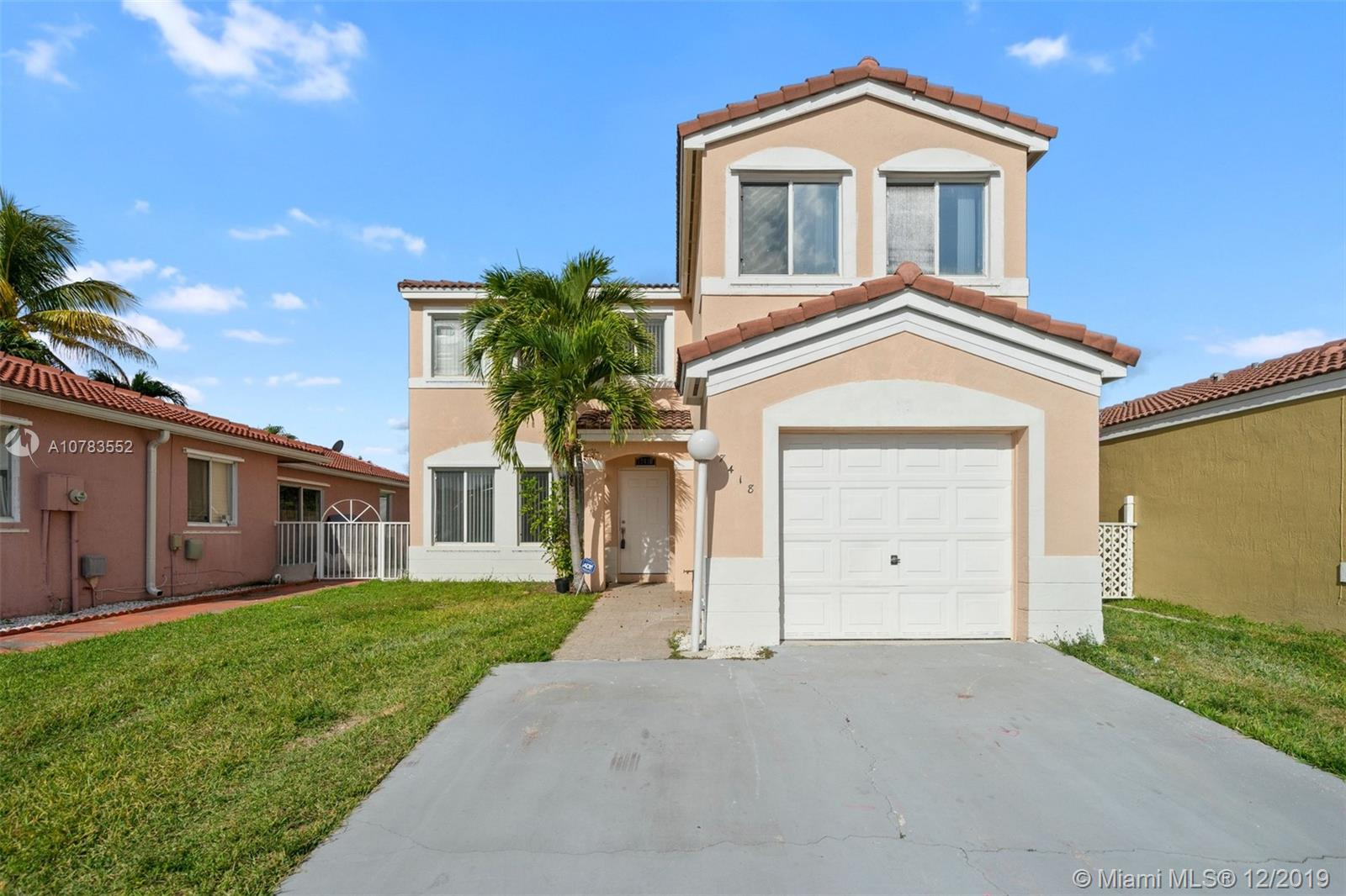 17418 SW 143rd Pl  For Sale A10783552, FL