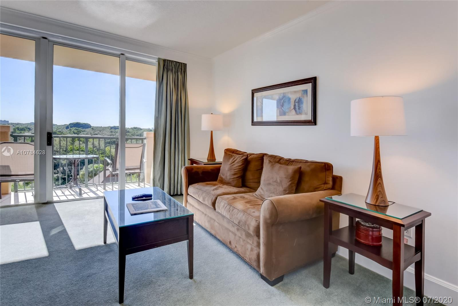 Beautifully appointed 1BR/1BA fully furnished unit in the iconic Mutiny Hotel, with incredible views of Sailboat Bay and Peacock Park.  Live in or join the on site rental program for immediate income with liberal owner use policy. Unit is currently in the hotel program and previous year's income is available upon request. The Mutiny features an onsite restaurant and bar with room service, a gym with sauna and steam room, 24 hour security and front desk, concierge, complimentary valet or self parking, and more. The Mutiny is just steps away from the heart of Coconut Grove and all of the shops, restaurants, and night life. Please visit the following link for a 360° Virtual Tour of this property