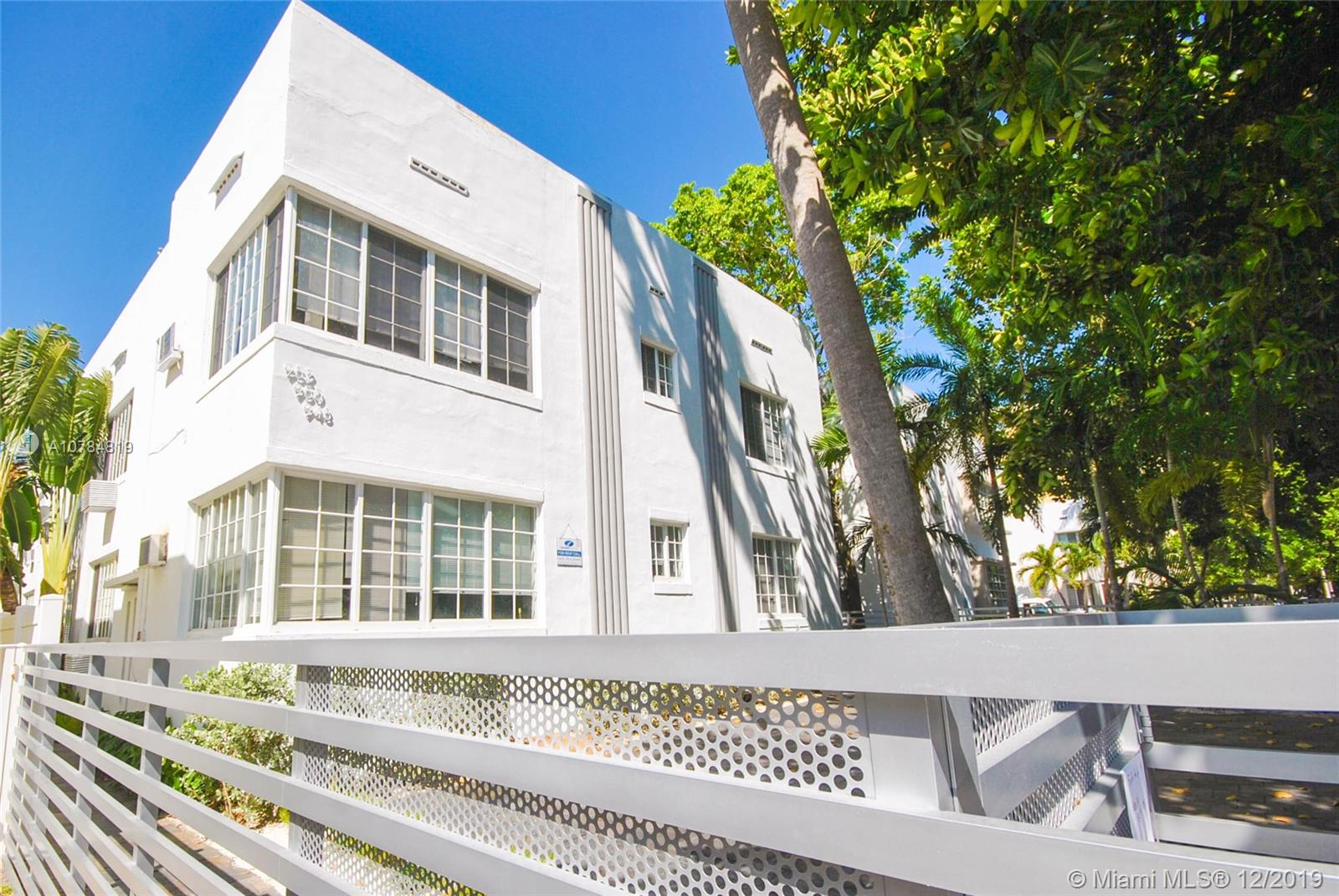 948  Meridian Ave #2 For Sale A10784819, FL