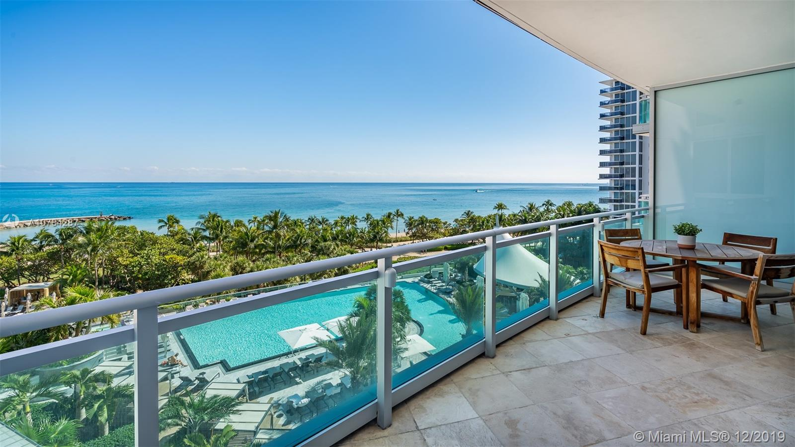 This elegant FURNISHED 3 bedrooms and 4 bathrooms flow through residence in prestigious ONE Bal Harbour features ocean & intracoastal views 3 spacious balconies. Private elevator takes you directly from your garage to your residence foyer which opens into a grand open living room with dining room combined. Designed with impeccable taste and styleunit features marble floors throughout living area and wood floor in bedrooms. A Full Service Luxury Building offering opulent Ritz-Carlton World Class 5 Star Services & Amenities. Sate of the art gym, 2 swimming pools, beach and pool service, 24 hrs concierge, room service, theater, valet and more. Walking distance to One Bal Harbor Shops and Surfside.15 min drive to Aventura Mall and South Beach. View virtual tour