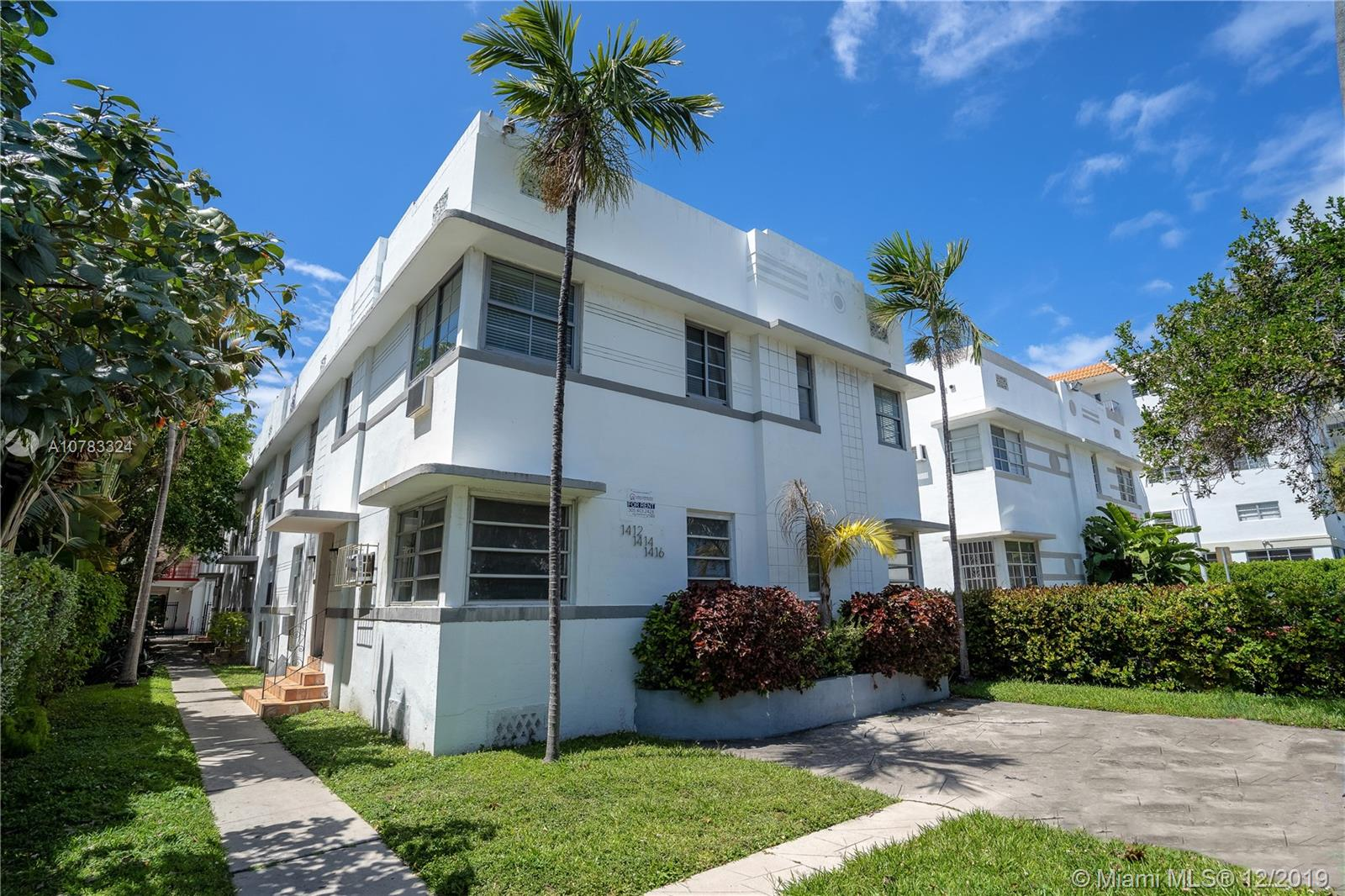 1414  EUCLID AV #16 For Sale A10783324, FL