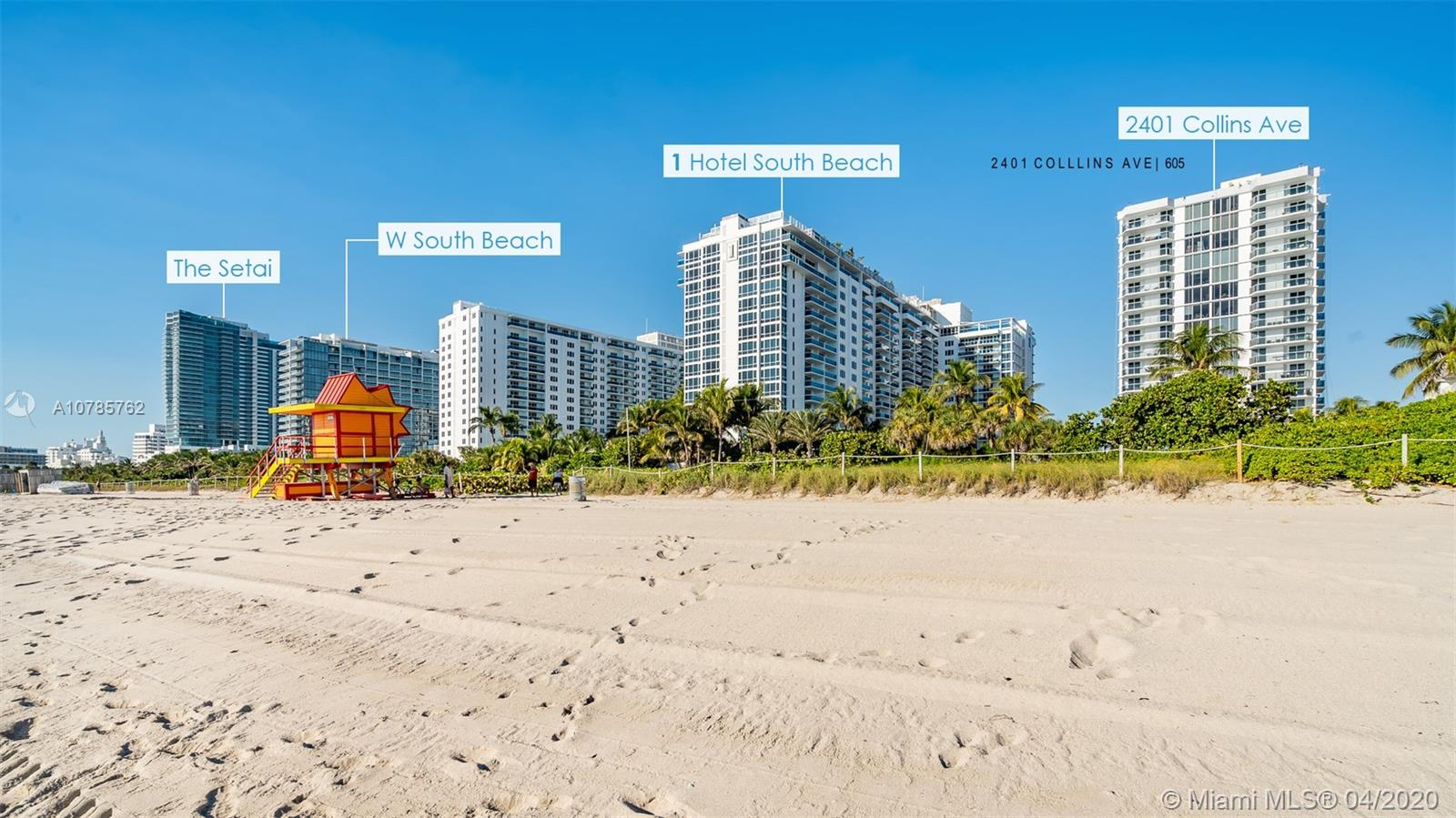 2401  Collins Ave #605 For Sale A10785762, FL