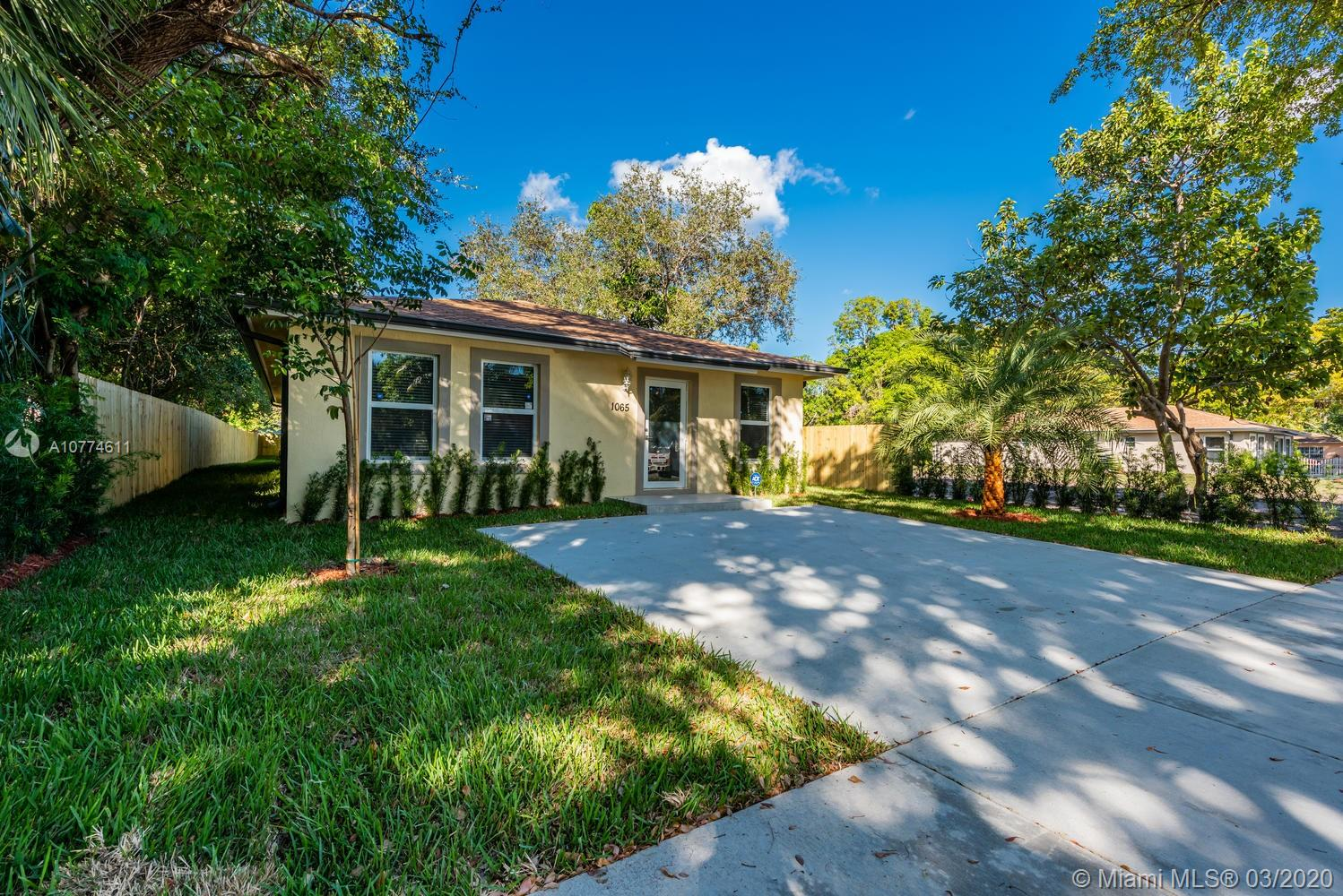 1065 NE 132nd St  For Sale A10774611, FL