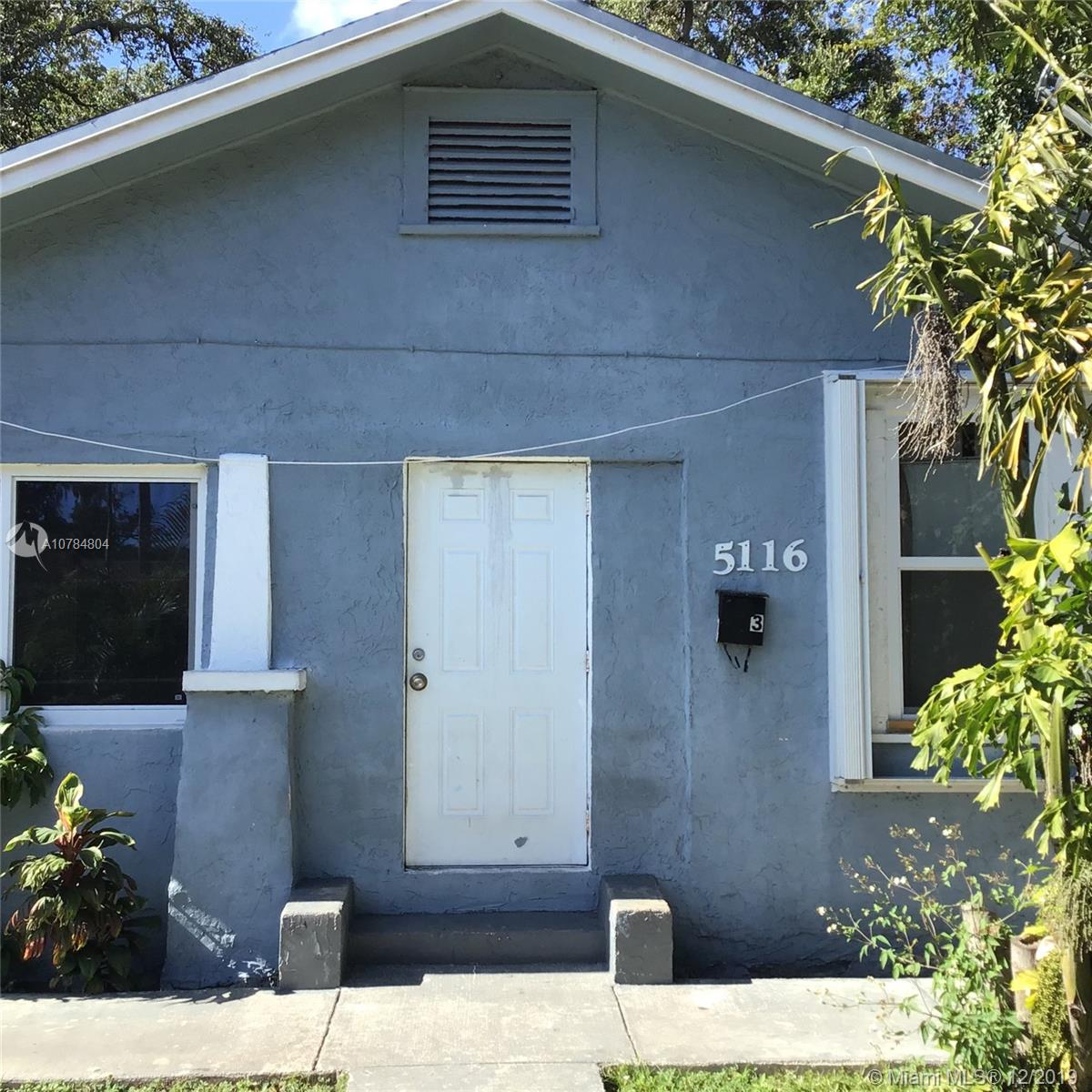 5116 NW 3rd Ave  For Sale A10784804, FL