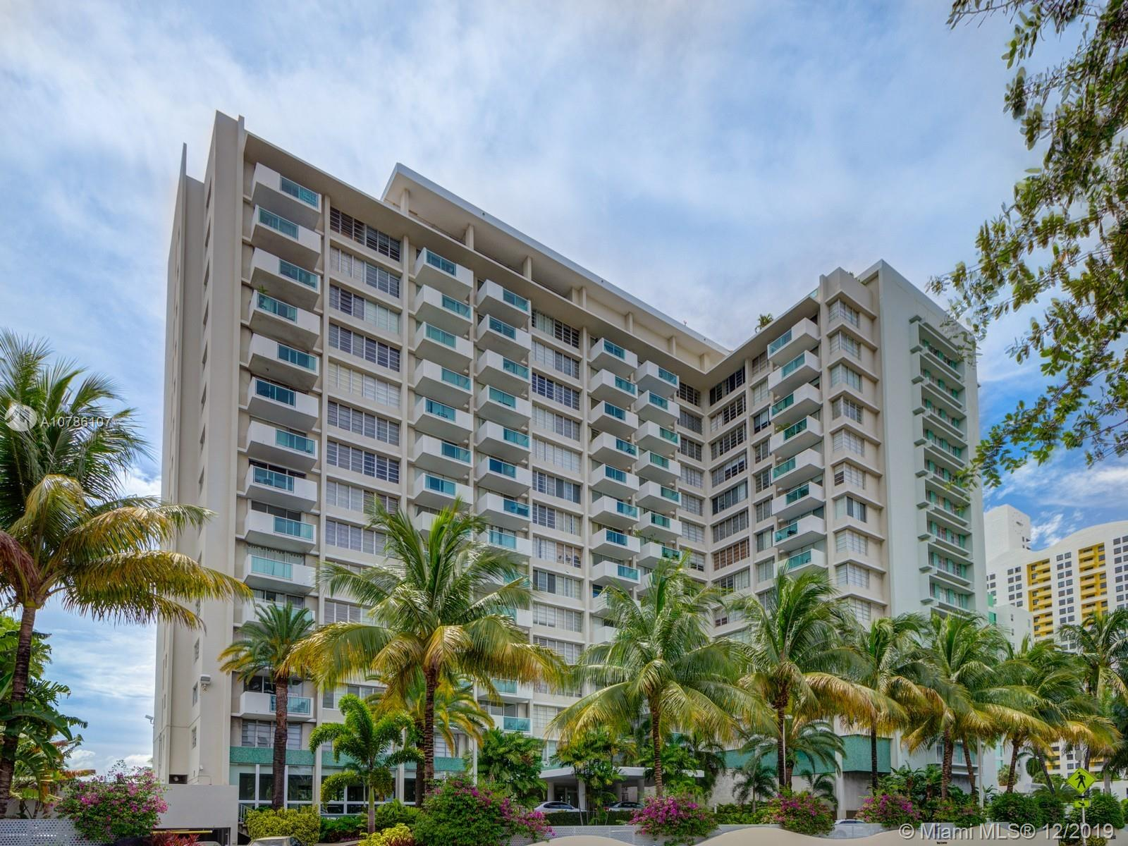 1000  West Ave #1008 For Sale A10786107, FL