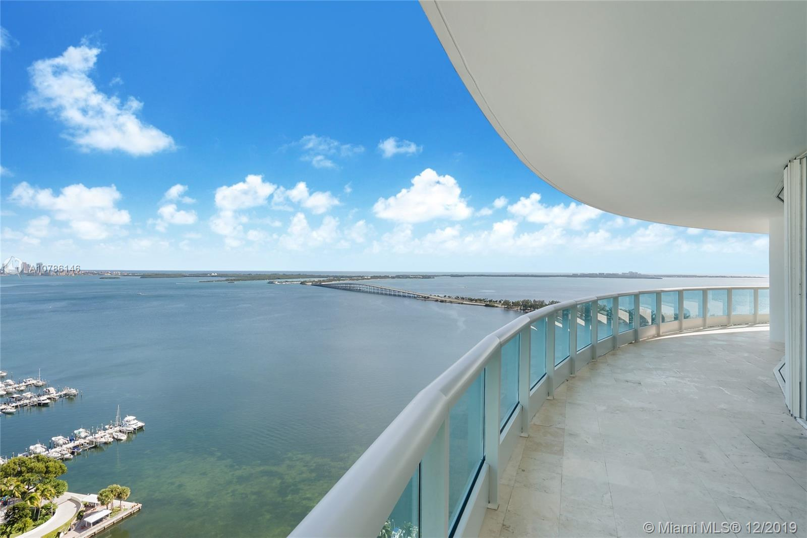 Amazing opportunity to own spectacular designer apartment in sough after Bristol Towers. This one of a kind, soon to be completed unit in desirable 01 line features gorgeous panoramic ocean views with private foyer elevator opening to 3,065 sqft of beautiful open space with volume ceilings. Integrated top of the line NEW Snaideros Italian kitchen cabinetry. Italian floors thru ought, designer fixtures such as Duravit, Hansgrohe, Philippe Starck and Axor. Direct access to spacious wrap around terrace from every room. Large Laundry area. Option to have 5 full bathrooms + Den. Boutique full service building with all amenities including pool/jacuzzi, BBQ and bar area, new gym & spa, Children play room, lighted tennis court, market/cafe, valet parking + 2 covered
