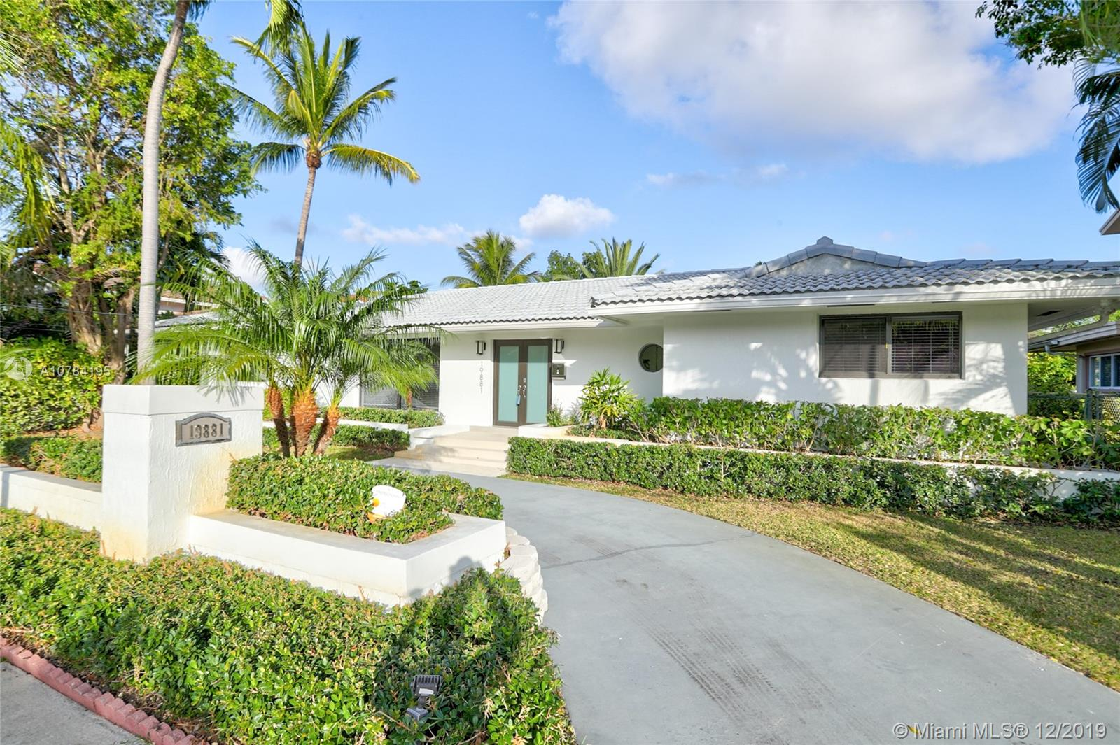 19881 NE 24th Ave  For Sale A10784195, FL