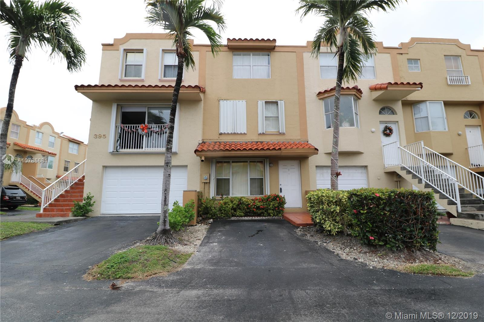 395 NW 86th Pl #707 For Sale A10786681, FL