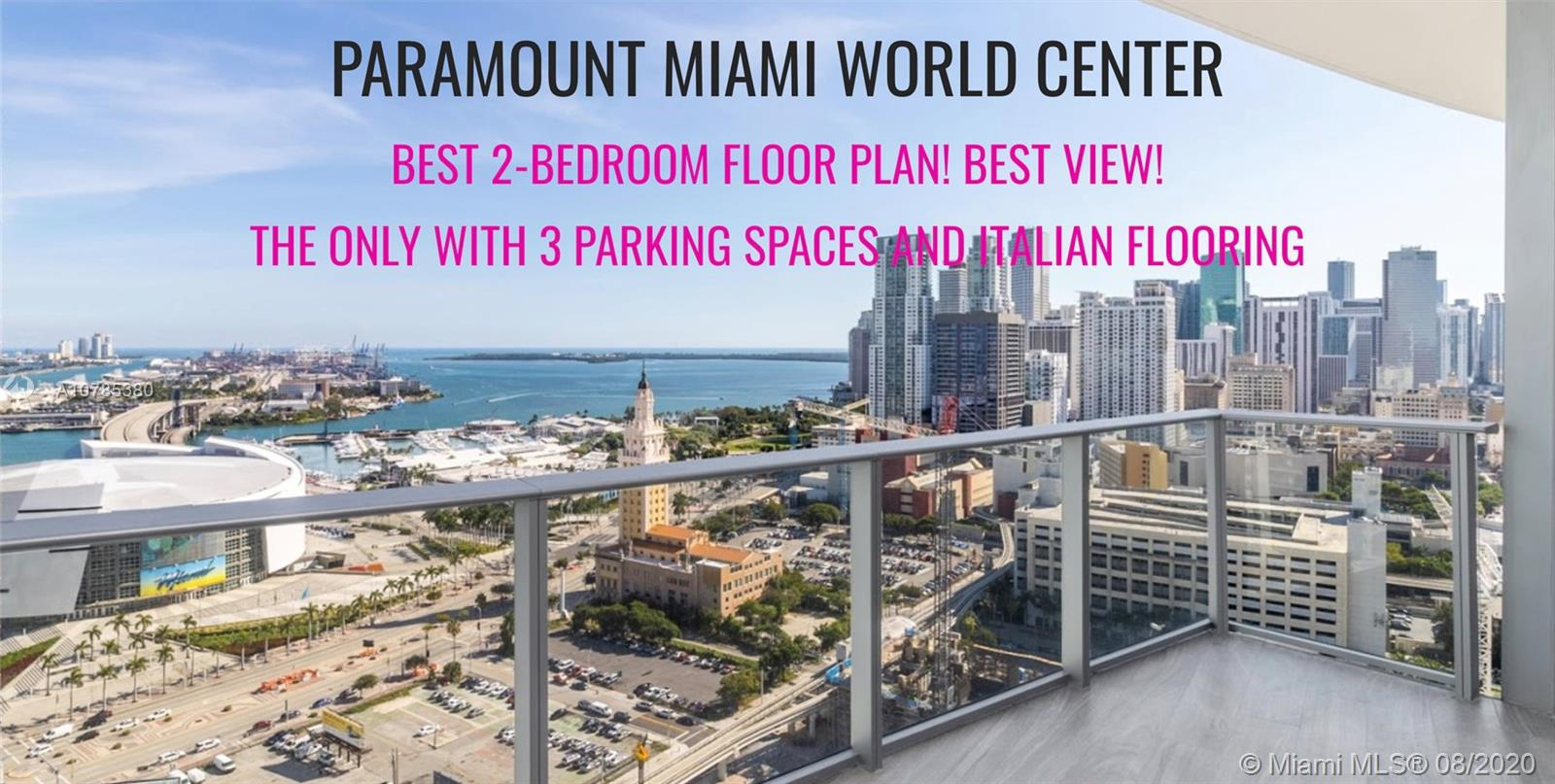 851 NE 1st Ave #2509 For Sale A10785380, FL