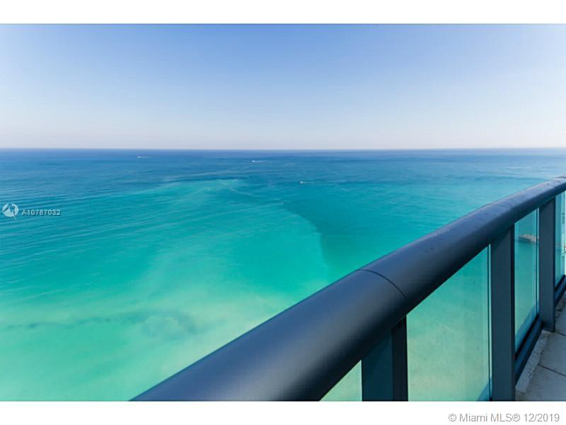 Breathtaking ocean and city views with private balconies. This stunning 3bed 3.5bath unit features cream marble floors, electrical window treatment, large walk-in closet along with plenty of extra storage/closet space. Located in the elegant Jade Beach building in Sunny Isles equipped with world class amenities (pool, hot tub, fitness room, spa, children's play area, valet and more!) and friendly, helpful staff. Make your south Florida living dream a reality and enjoy the spectacular sunrises and sunsets on first row from one of your private balconies! One parking spot included and pet friendly building. AGENTS PLEASE READ BROKER REMARKS REGARDING SHOWINGS
