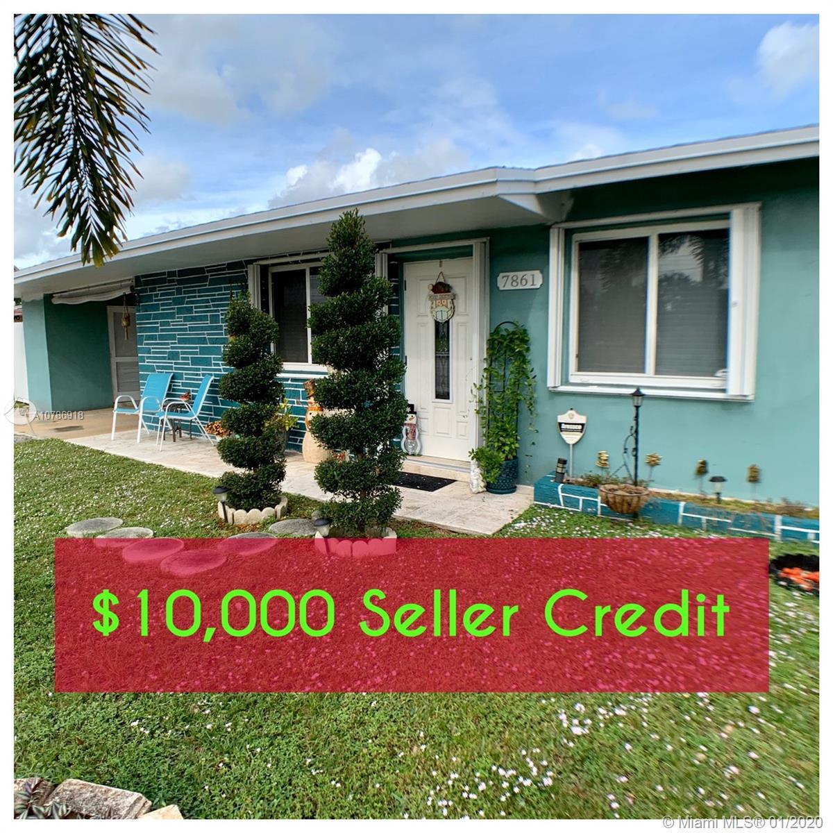 7861  Sheridan St  For Sale A10786918, FL