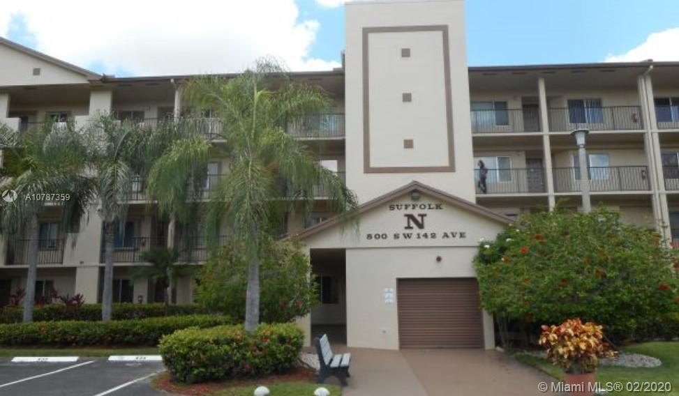 800 SW 142nd Ave #409N For Sale A10787359, FL