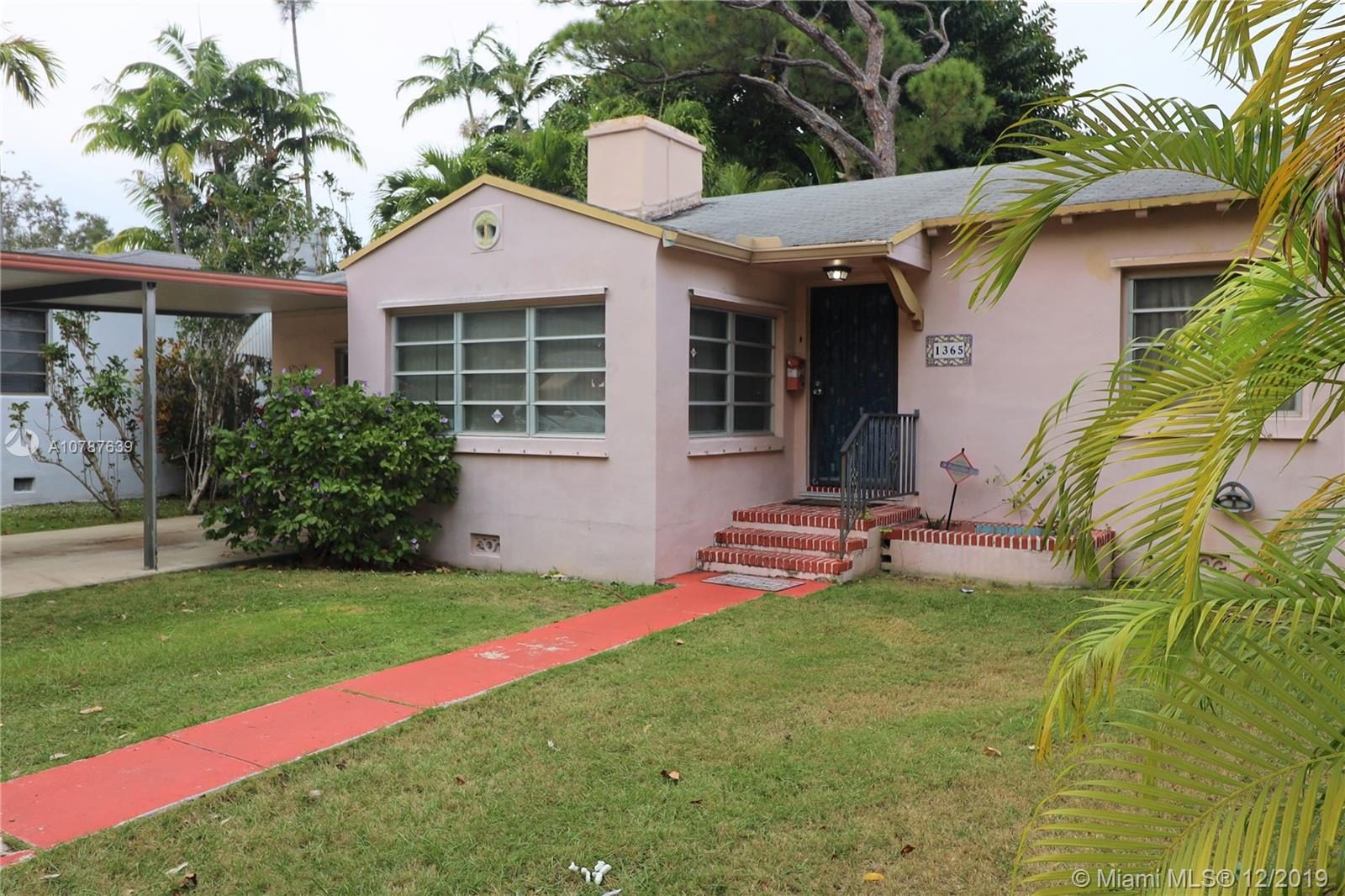 1365 SW 23rd St  For Sale A10787639, FL