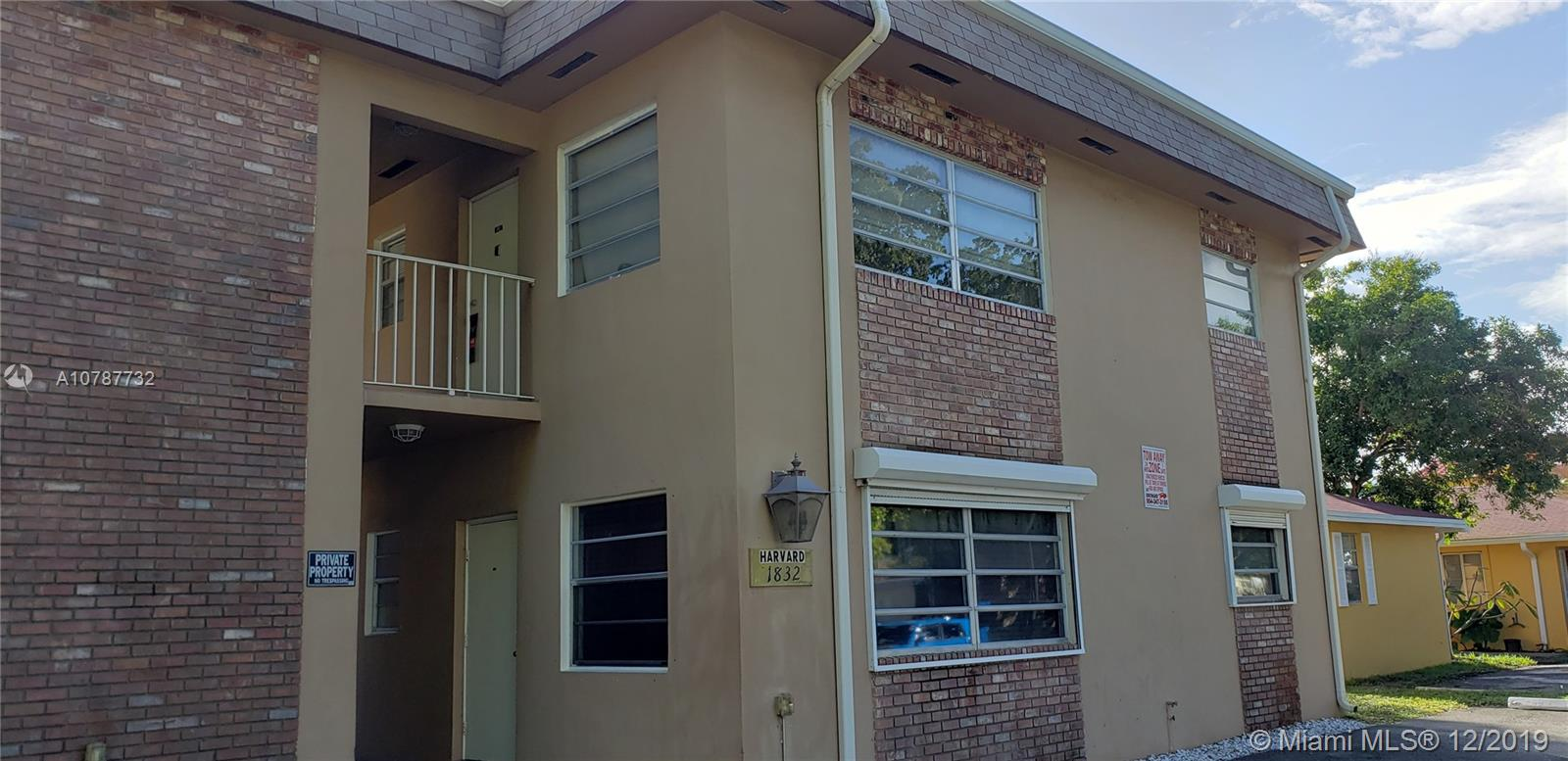 1832  Madison St #203 For Sale A10787732, FL