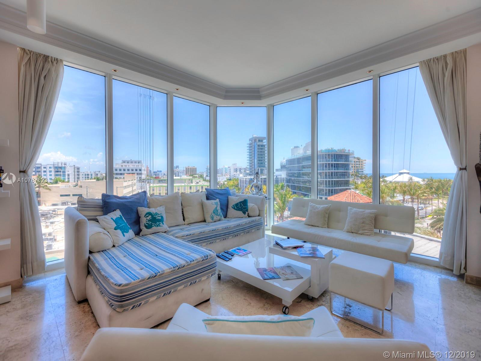 300 S Pointe Dr #605 For Sale A10787823, FL