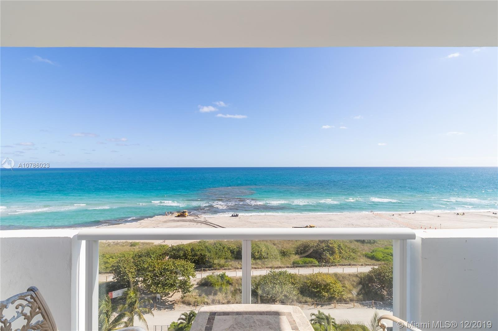 9195  Collins Ave #1001 For Sale A10786023, FL