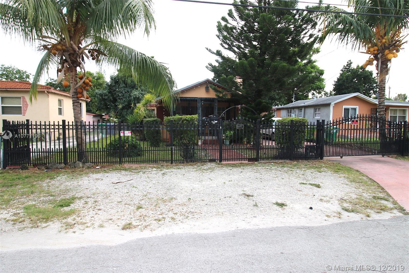 570 NW 97 Street  For Sale A10777196, FL