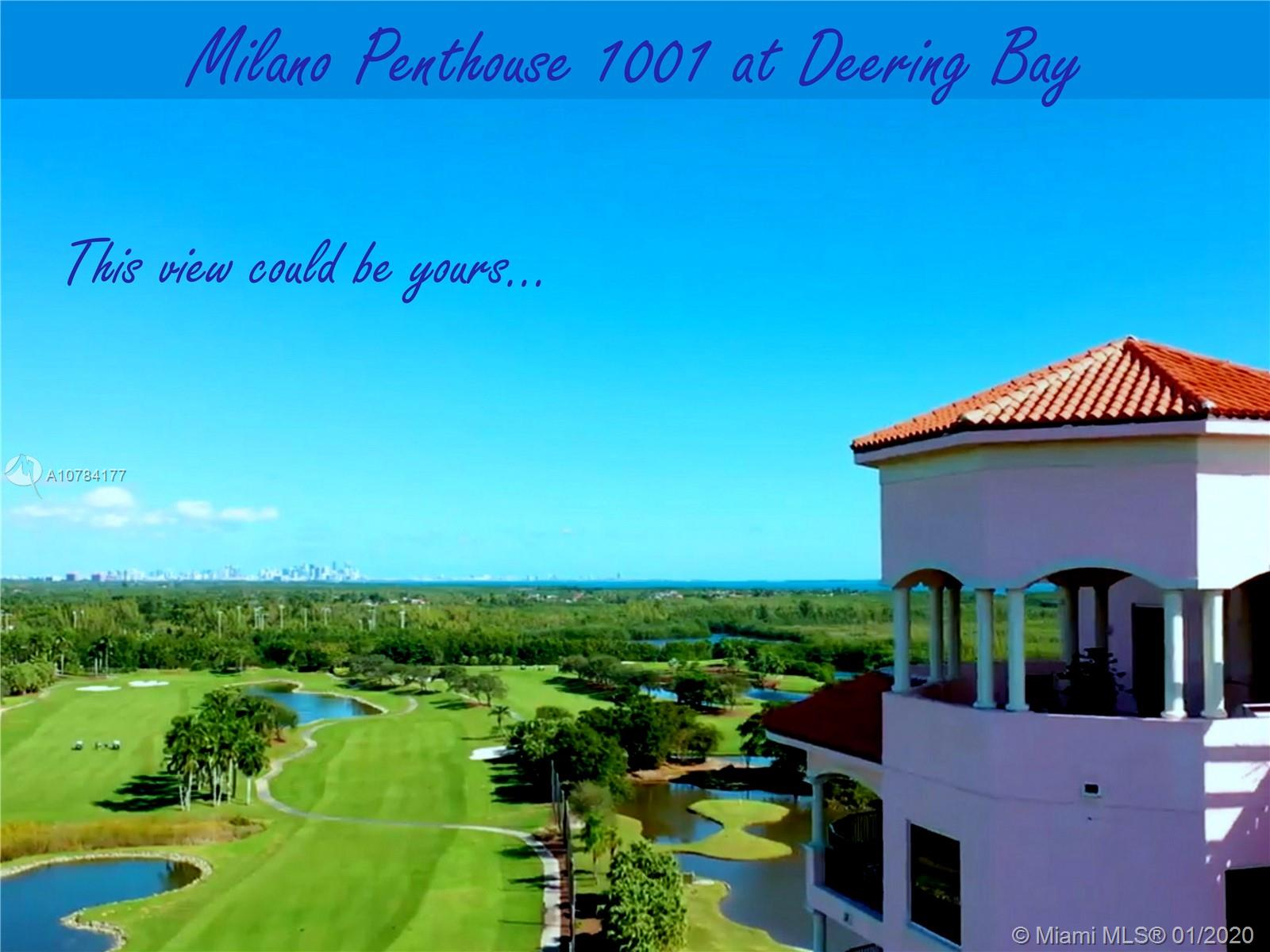 13621 DEERING BAY PH 1001, Coral Gables, FL 33158