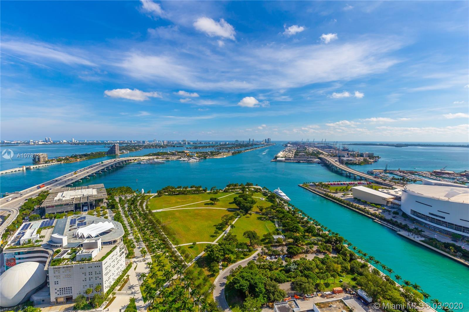 1000  Biscayne Blvd #3302 For Sale A10787254, FL