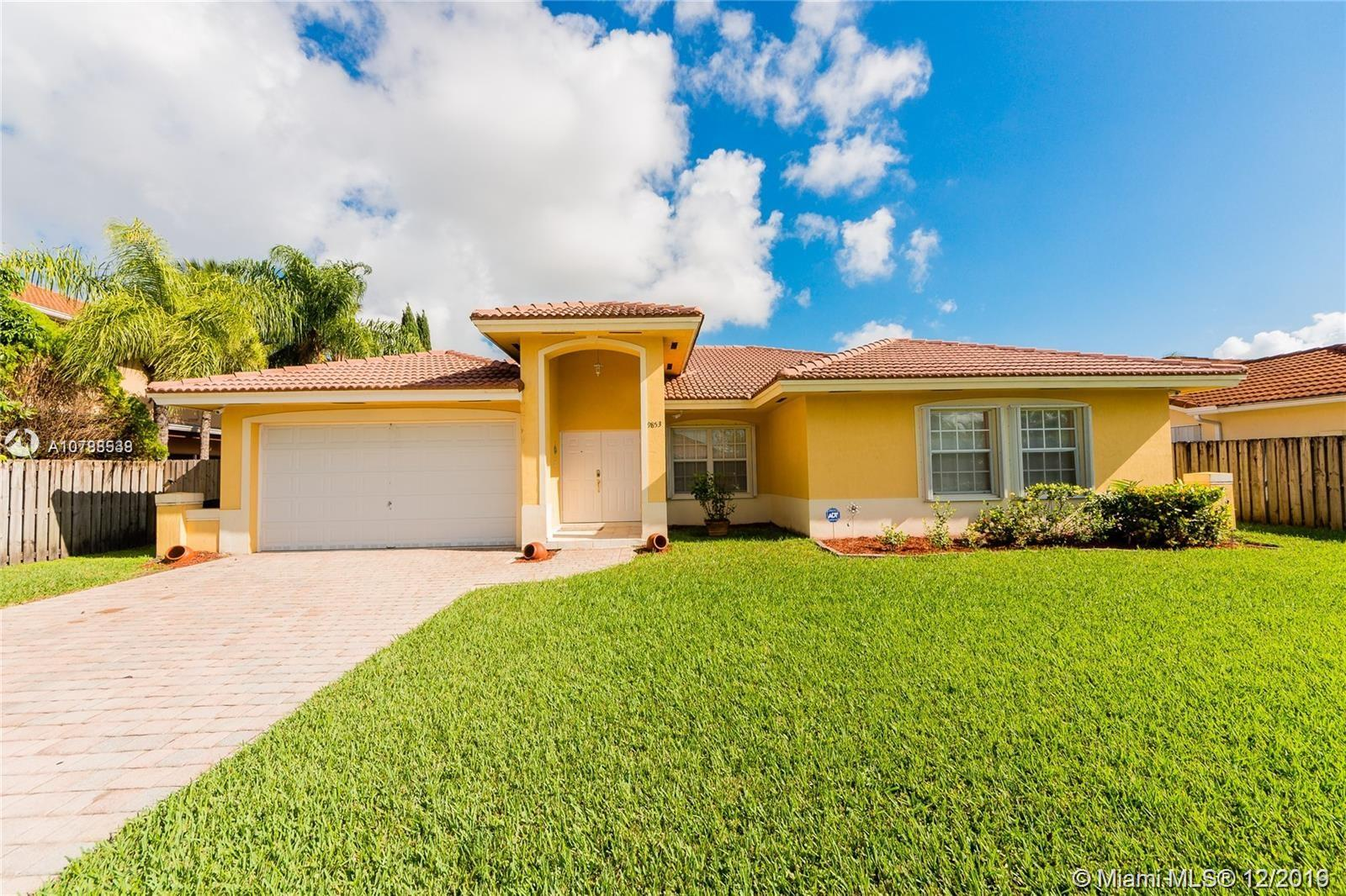 9853 SW 159th Ave  For Sale A10788538, FL