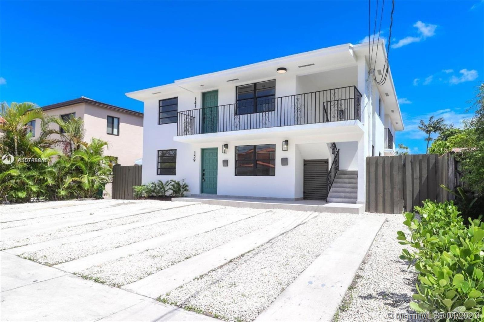 139 SW 31st Ct #1&2 For Sale A10788045, FL