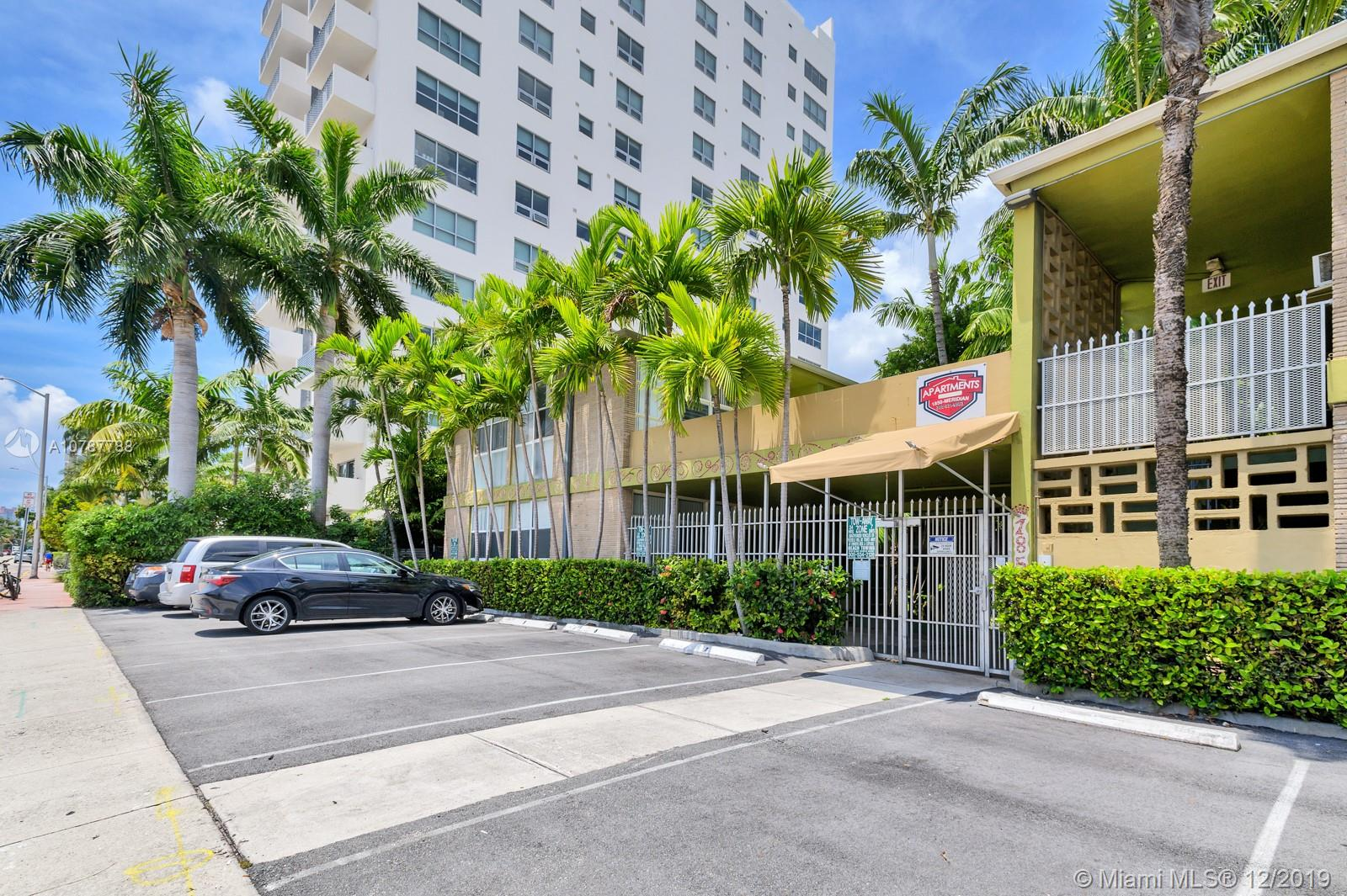 1850  Meridian Ave #7 For Sale A10787788, FL