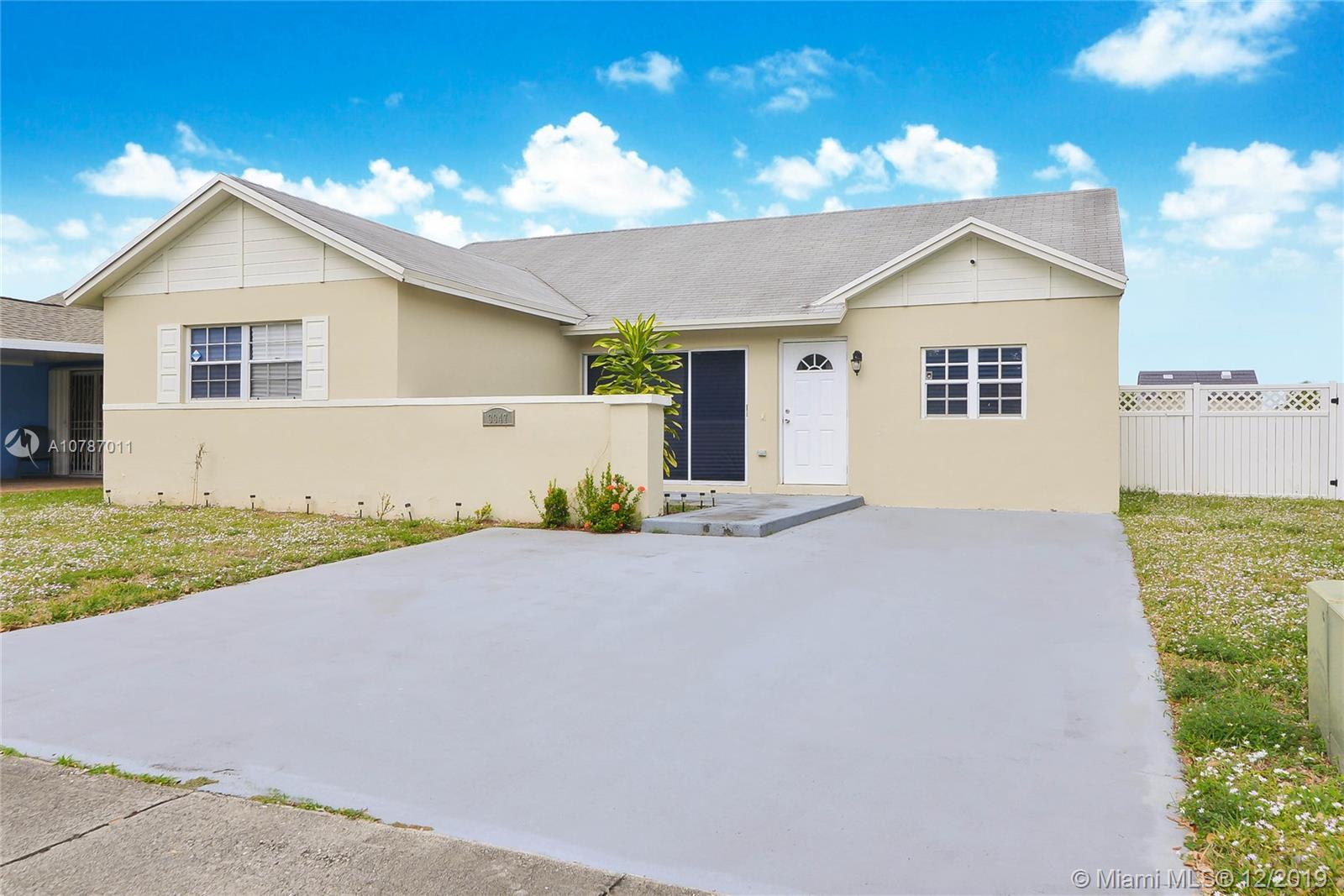 3347 NW 204th Ter  For Sale A10787011, FL
