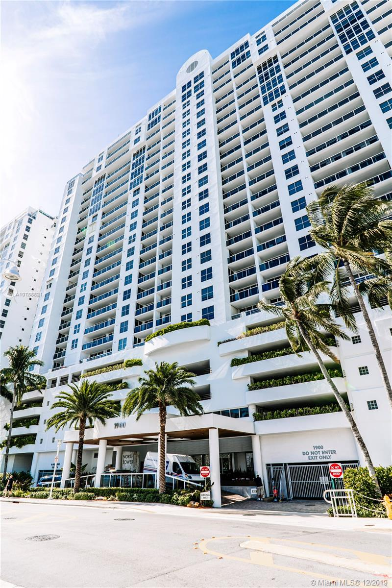1900  Sunset Harbour Dr #1909 For Sale A10788821, FL