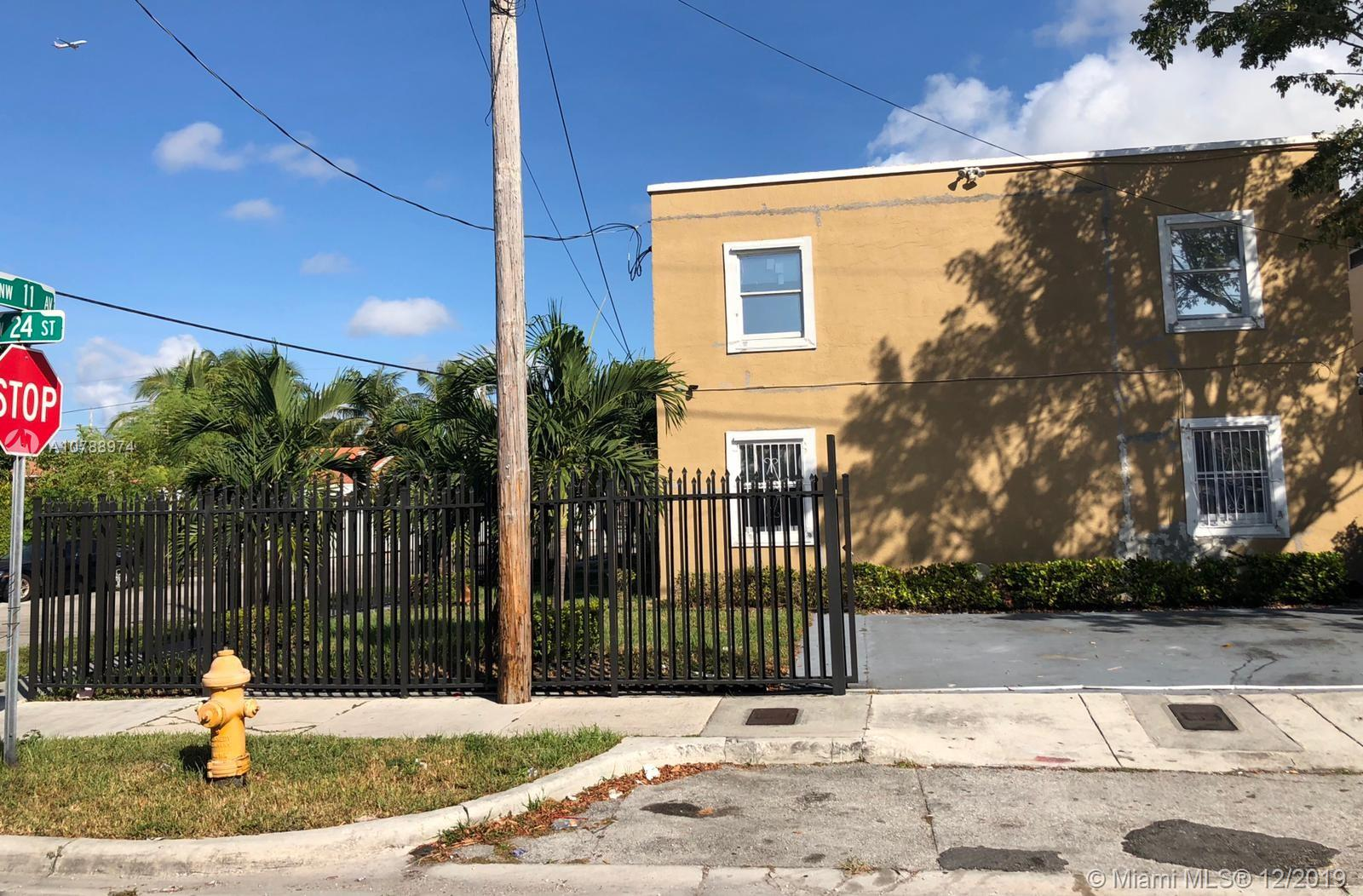 1085 NW 24th St #1A For Sale A10788974, FL