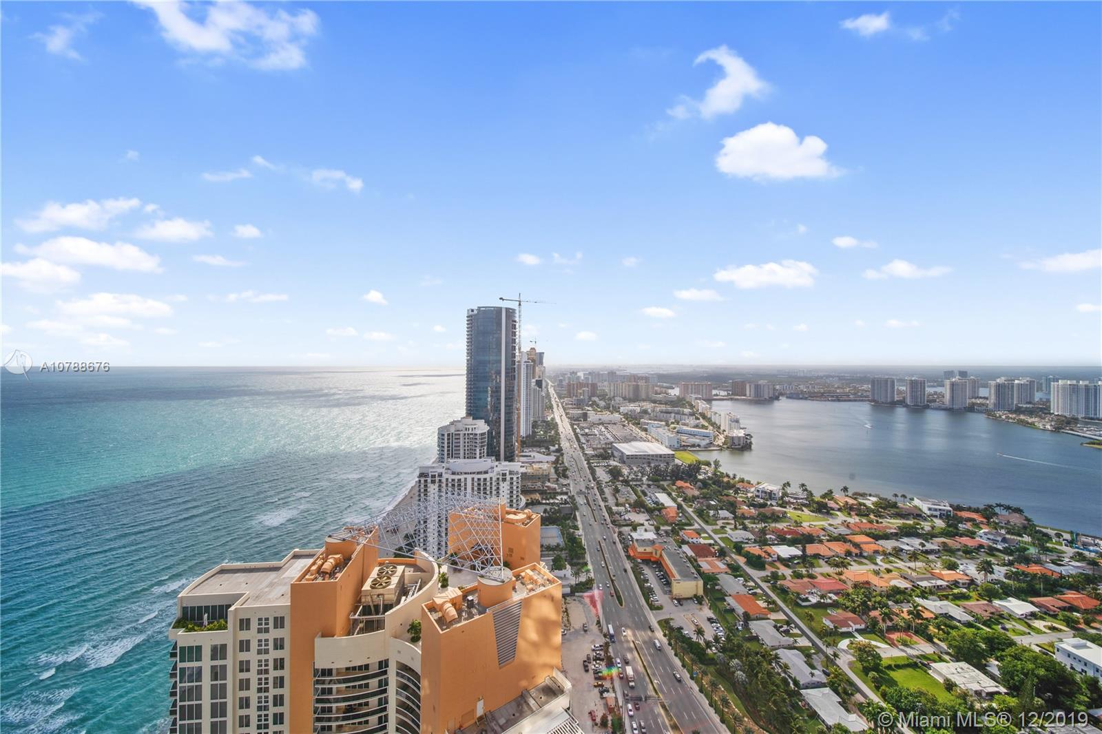 Newly completed,this elegant 56-story luxury development features 308 exclusive & luxurious oceanfront residences.Enjoy the stunning ocean and intracoastal views from this corner unit on the 43rd floor:it features Subzero fridge & Wolf appliances,stone countertops,Toto toilet,10 ft ceilings,1,013 wrap around terrace & semi-private foyer.The Armani tower and its gardens expand over the 3.2-acre site and it is located on 300 feet of oceanfront in Sunny Isles Beach,near the sophisticated Bal Harbour & Aventura.Amenities include a private oceanfront restaurant & bar,the Armani Spa,private Movie Theather,heated pool,cigar room,children playground,an Armani fitness center,expansive two story revitalization spa with indoor & outdoor treatment rooms,direct beach access & more.