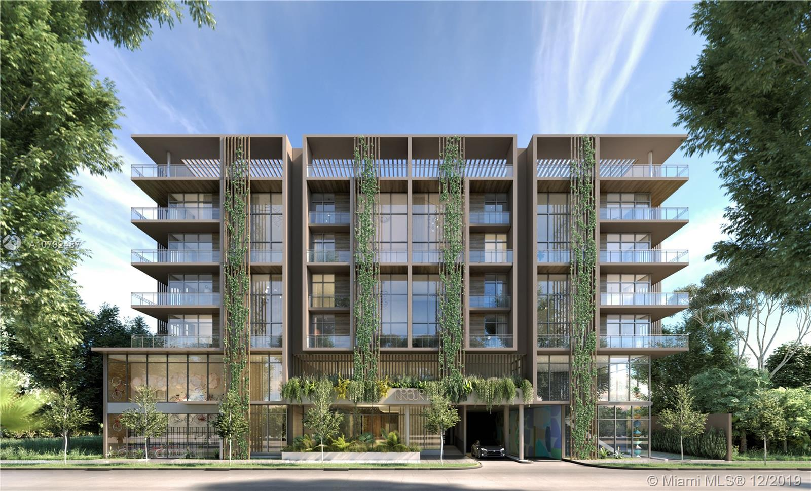 Arbor Residences is an exclusive oasis tucked away in the heart of Coconut Grove, walking distance to CocoWalk, Mayfair Shops, and waterfront living. Custom finishes in all 52 units of this boutique luxury project. Featuring Balvi Quartzite counters and white oak cabinets in the kitchens along with extraordinary Blue Ocean travertine and Hansgrohe fixtures in the bathrooms. Amenities include concierge, fitness center, pool, social club lounge, summer kitchens, & private dog park, just to name a few.