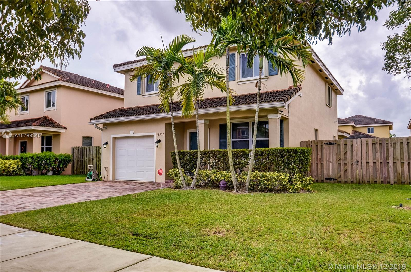 12952 SW 284th Ter  For Sale A10789345, FL