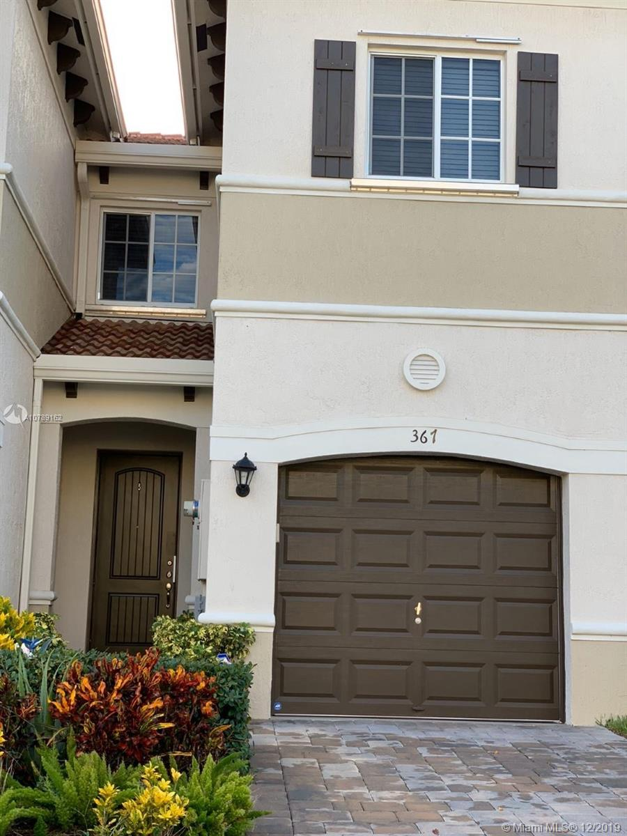 HOA ONLY $120,00 per month. ---- AMAZING NEW CONSTRUCTION TOWNHOUSE 3 bedrooms, 2½ baths with 1 car garage, open floor concept with a half bathroom on the first floor All bedrooms are upstairs, MASTER BEDROOMS with 2 walking closets. Wash and Dryer on the second floor for your convenient. located in the beautiful Village Park community ONLY 1.6 miles from the BEACH. OpenEnjoy all the South Florida lifestyle has to offer in Deerfield Beach.Minutes from the beach and Inter coastal waterways