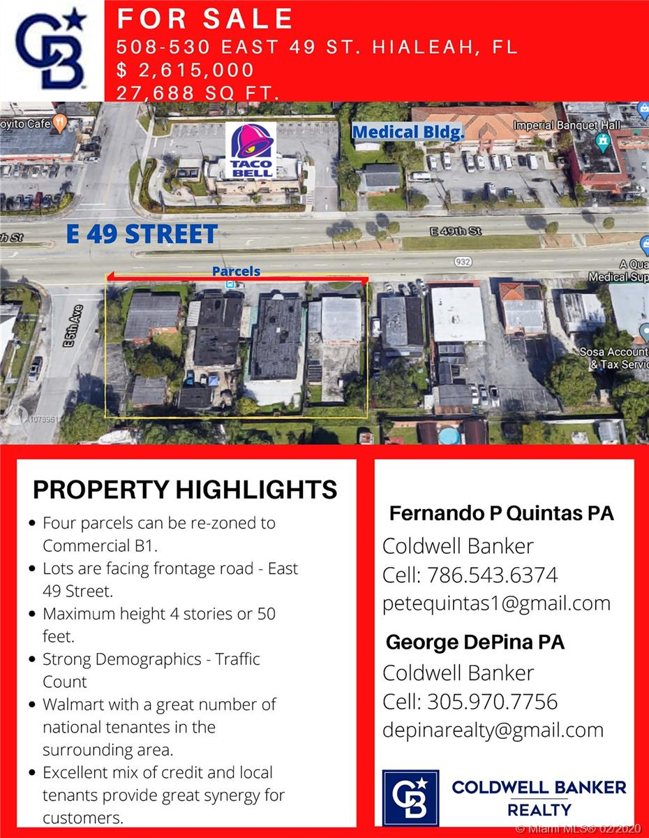530 E 49th St  For Sale A10789618, FL
