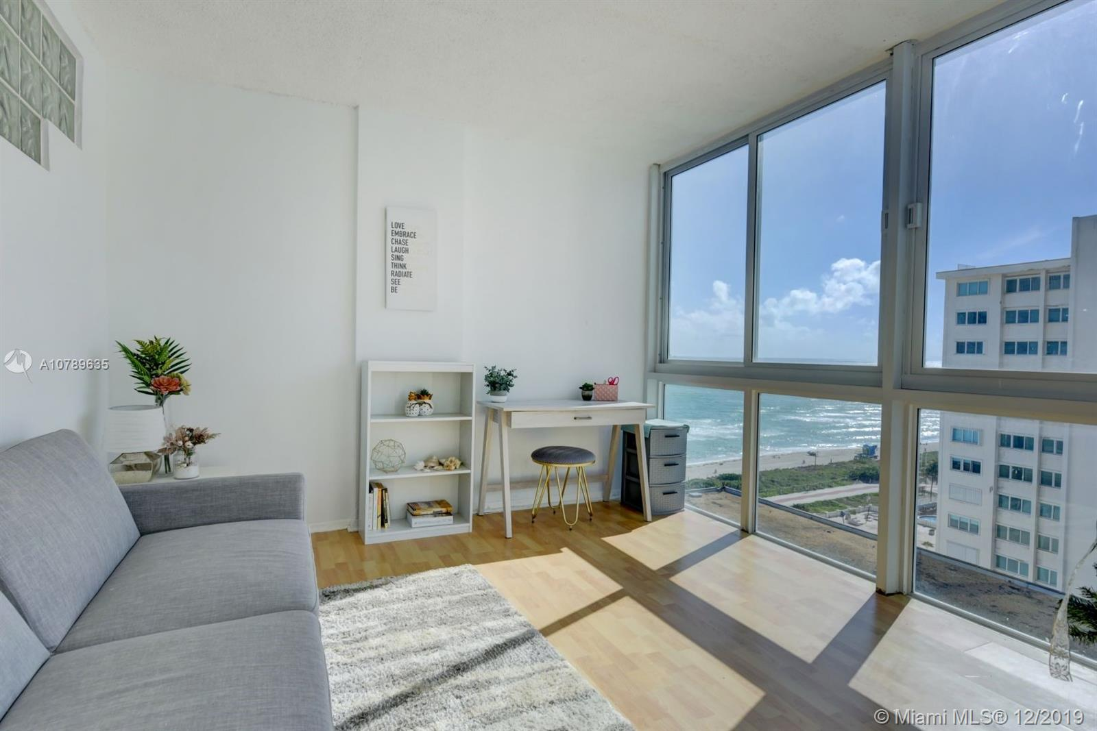 5401  Collins Ave #1014 For Sale A10789635, FL