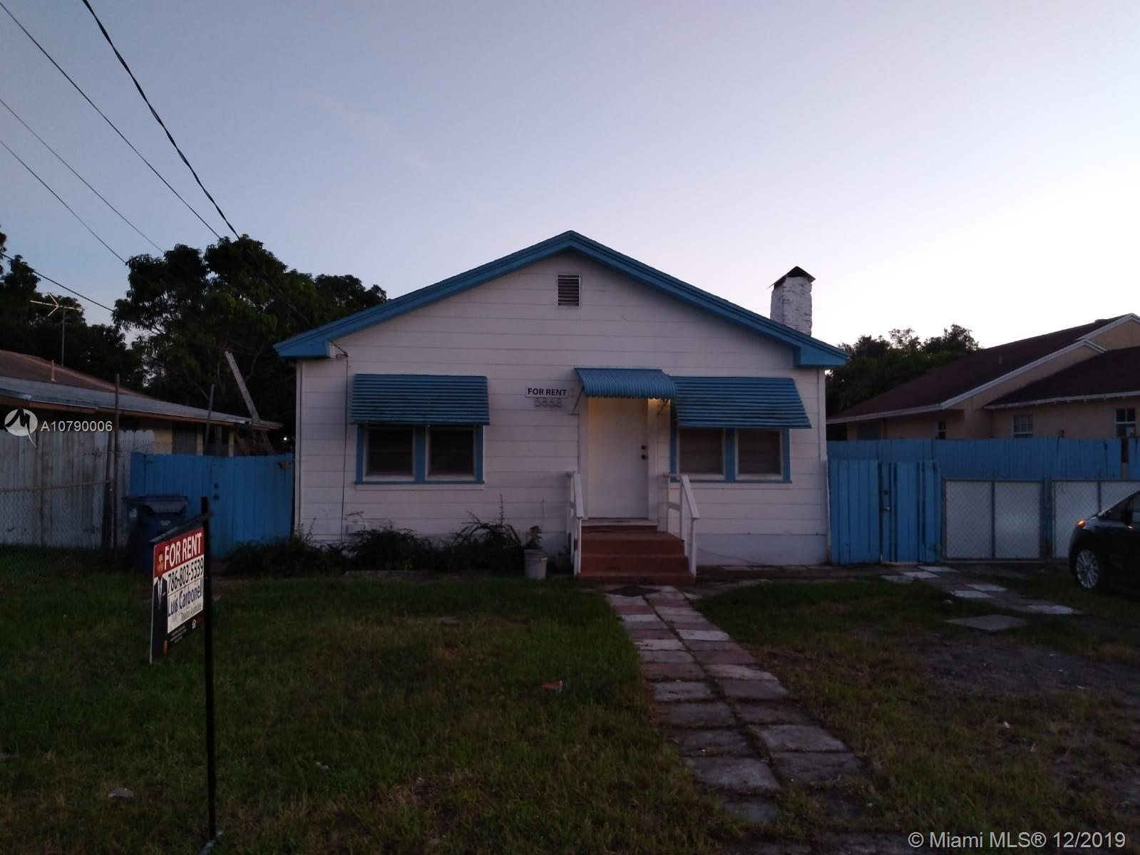 5868 SW 17th St  For Sale A10790006, FL