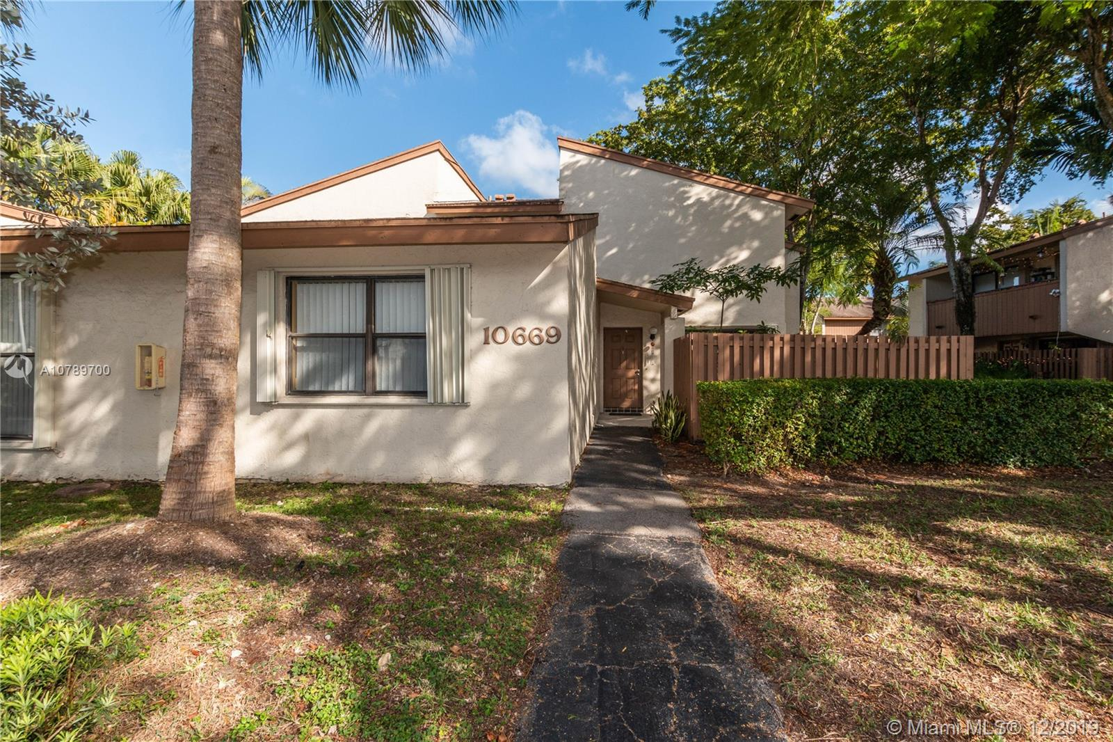 10669 SW 113th Pl #84Y For Sale A10789700, FL