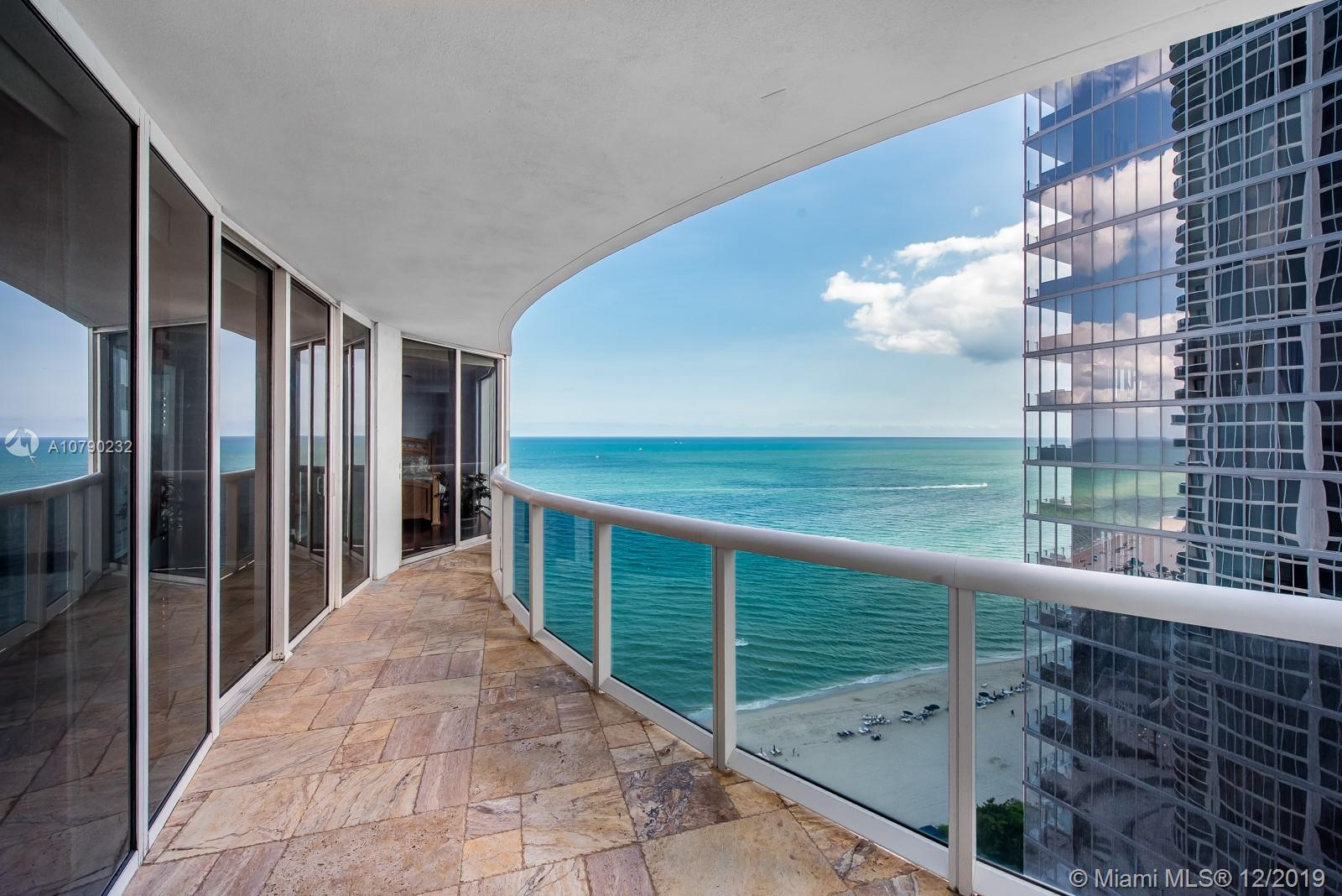 See this LUXURY OCEANFRONT 2 BA / 2 BA + Den (enclosed den as a third bedroom), split floor plan. 1644 SqFt residence located in the heart of Sunny Isles Beach with Gorgeous Ocean, Intracoastal and City views from living and two bedrooms. Finishes include floor to ceiling impact windows, walk-in closets, marble floors,  Jacuzzi tub in Master bedroom and shower. Building amenities include a fitness center, Gym, restaurant on the beach, beach service, 24 hours security and valet. One parking space.Easy to show, Make an offer.