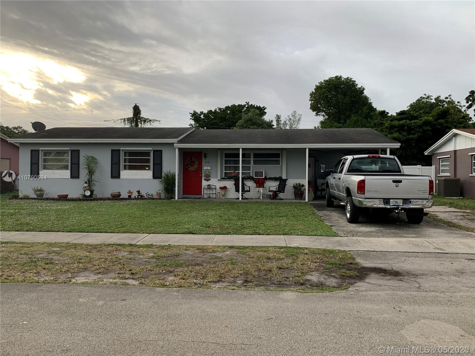 310 N 71st Ave  For Sale A10790594, FL