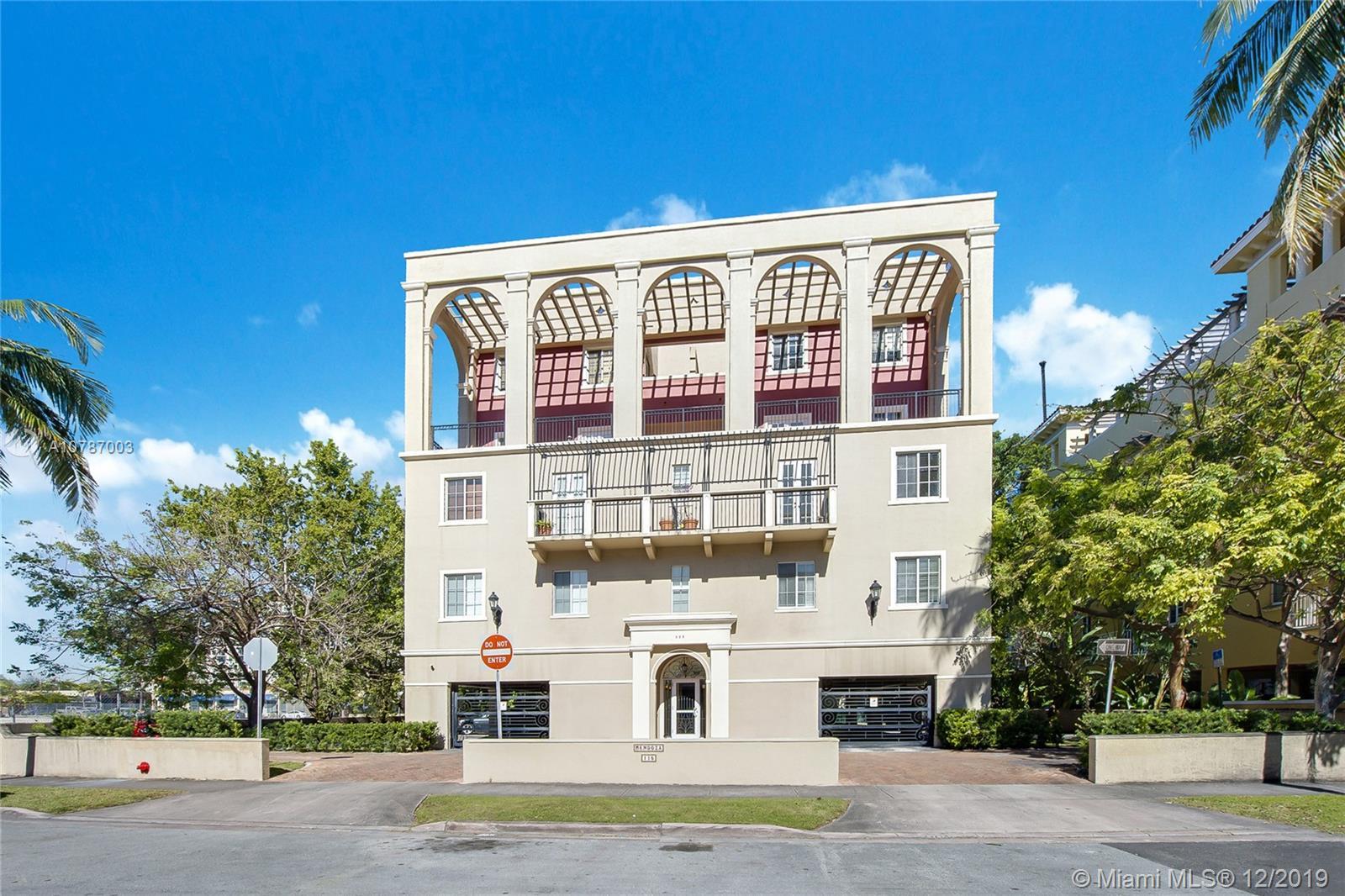 115  Mendoza Ave #302 For Sale A10787003, FL